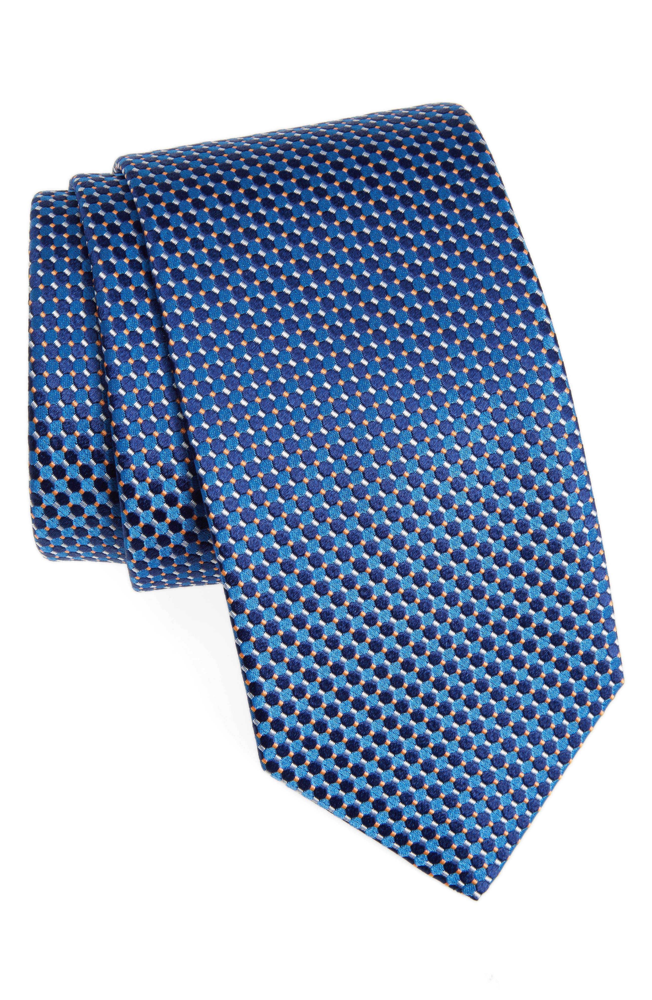 Main Image - Eton Geometric Silk Tie