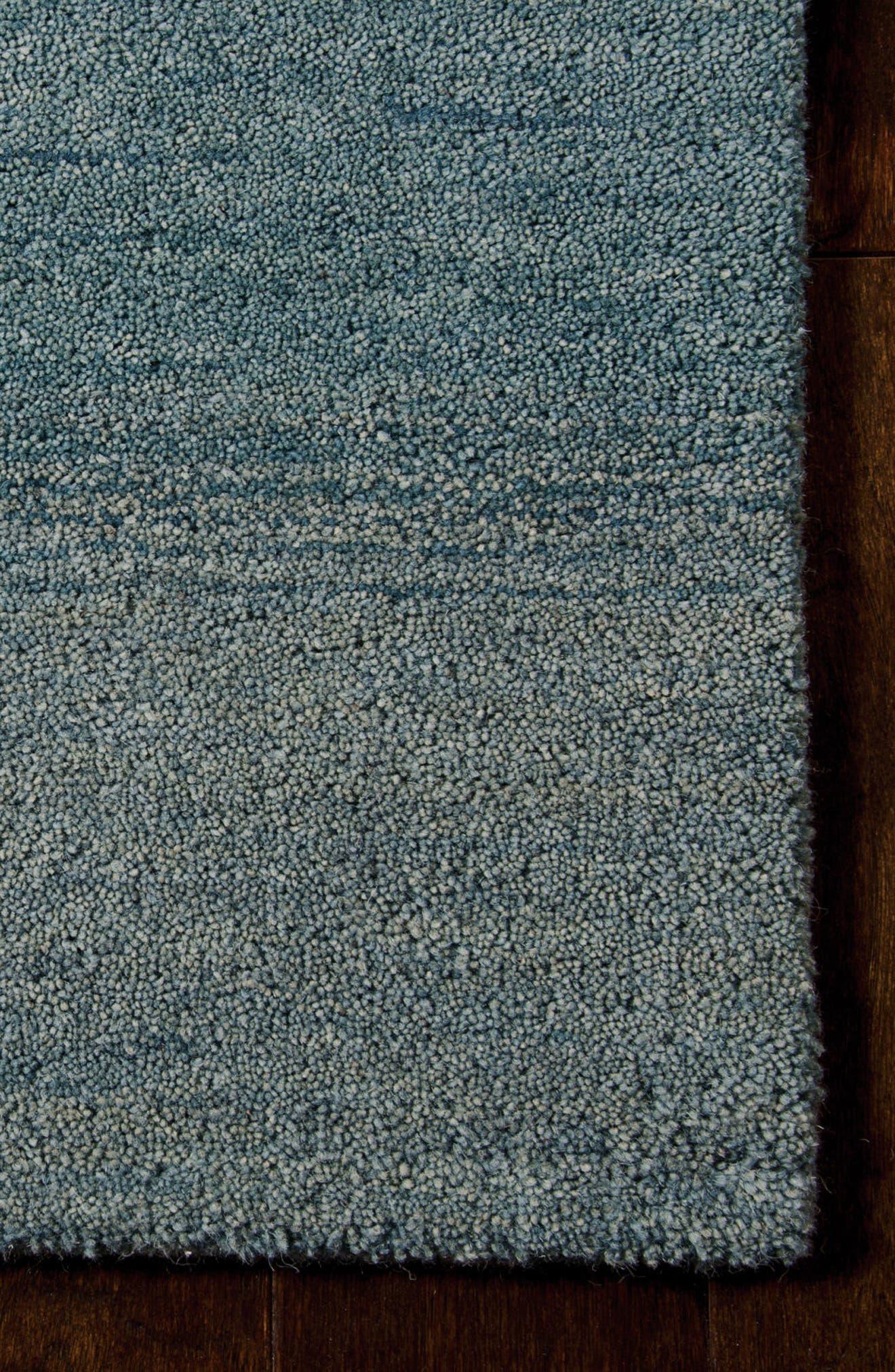 Alternate Image 4  - Calvin Klein Linear Glow Wool Rug