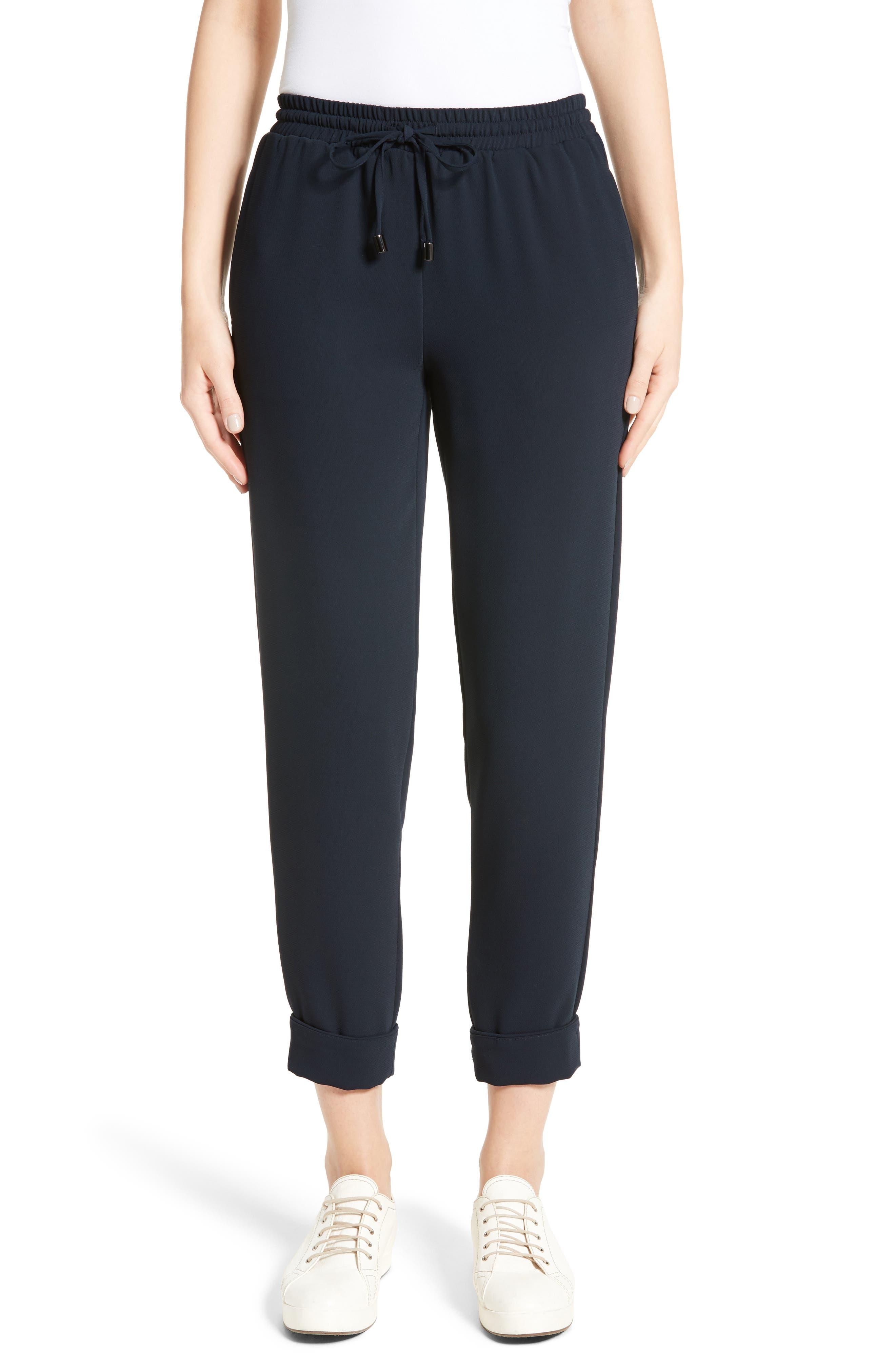 Armani Jeans Tech Jogger Pants,                             Main thumbnail 1, color,                             Navy