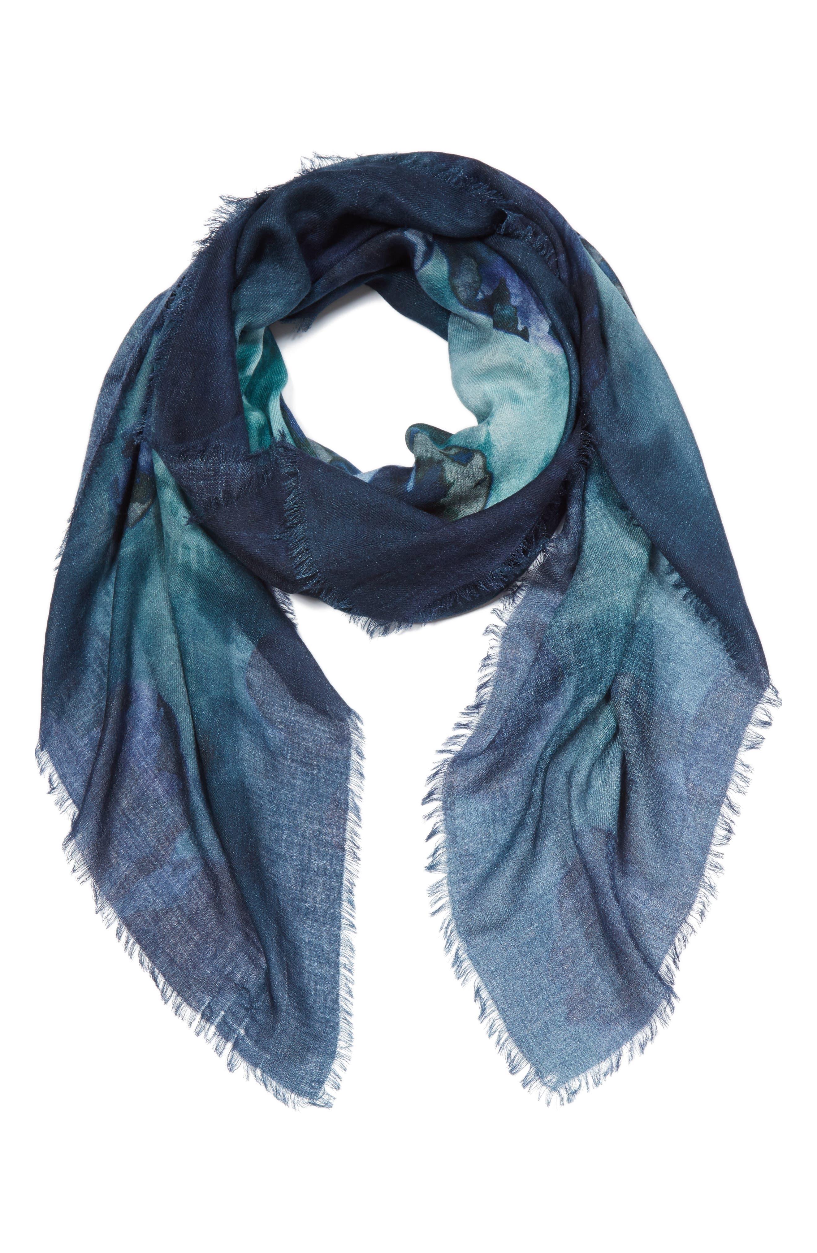 Max Mara Manioco Silk, Wool & Cashmere Scarf (Nordstrom Exclusive)