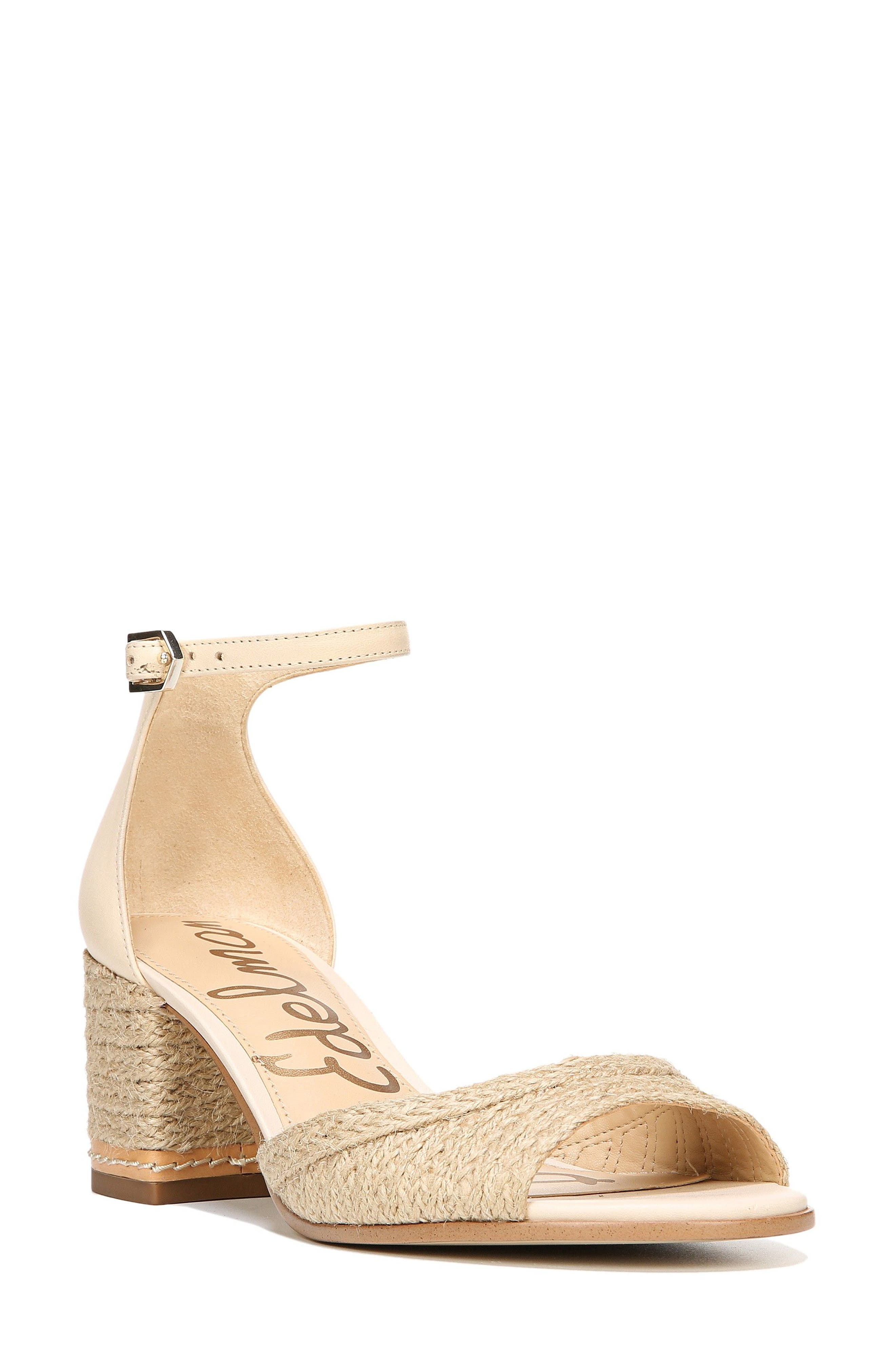 Susie 2 Ankle Strap Sandal,                         Main,                         color, Summer Sand Leather