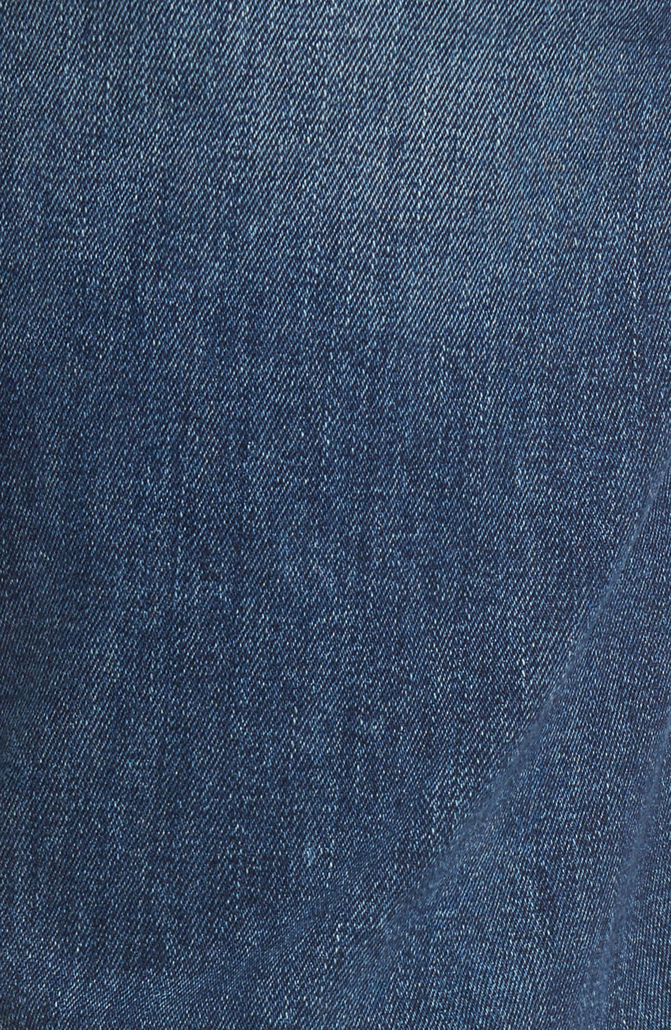 Russell Slim Straight Fit Jeans,                             Alternate thumbnail 5, color,                             Twine