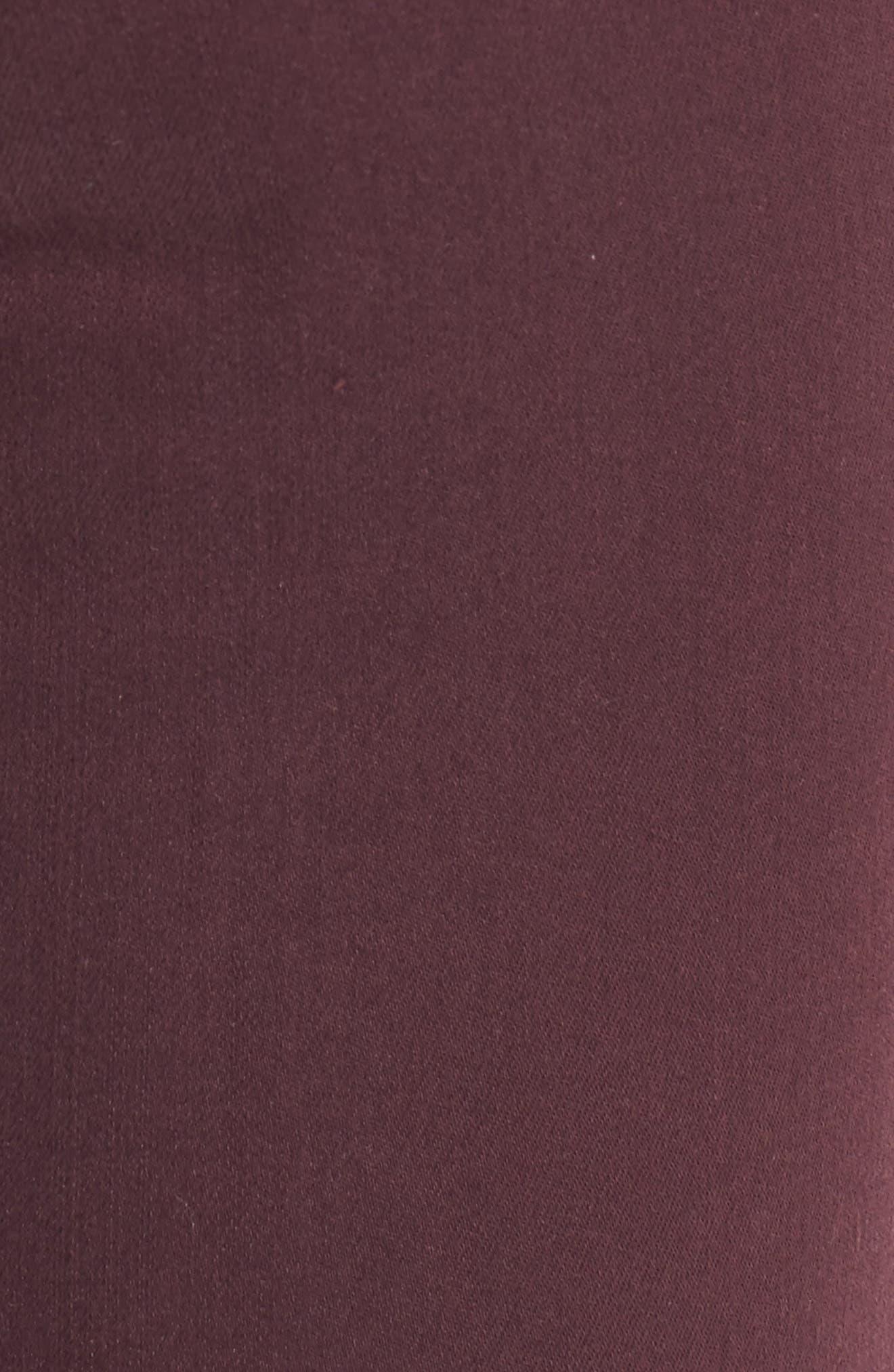 Alternate Image 5  - Caslon® Frayed Hem Skinny Ankle Jeans (Regular & Petite)