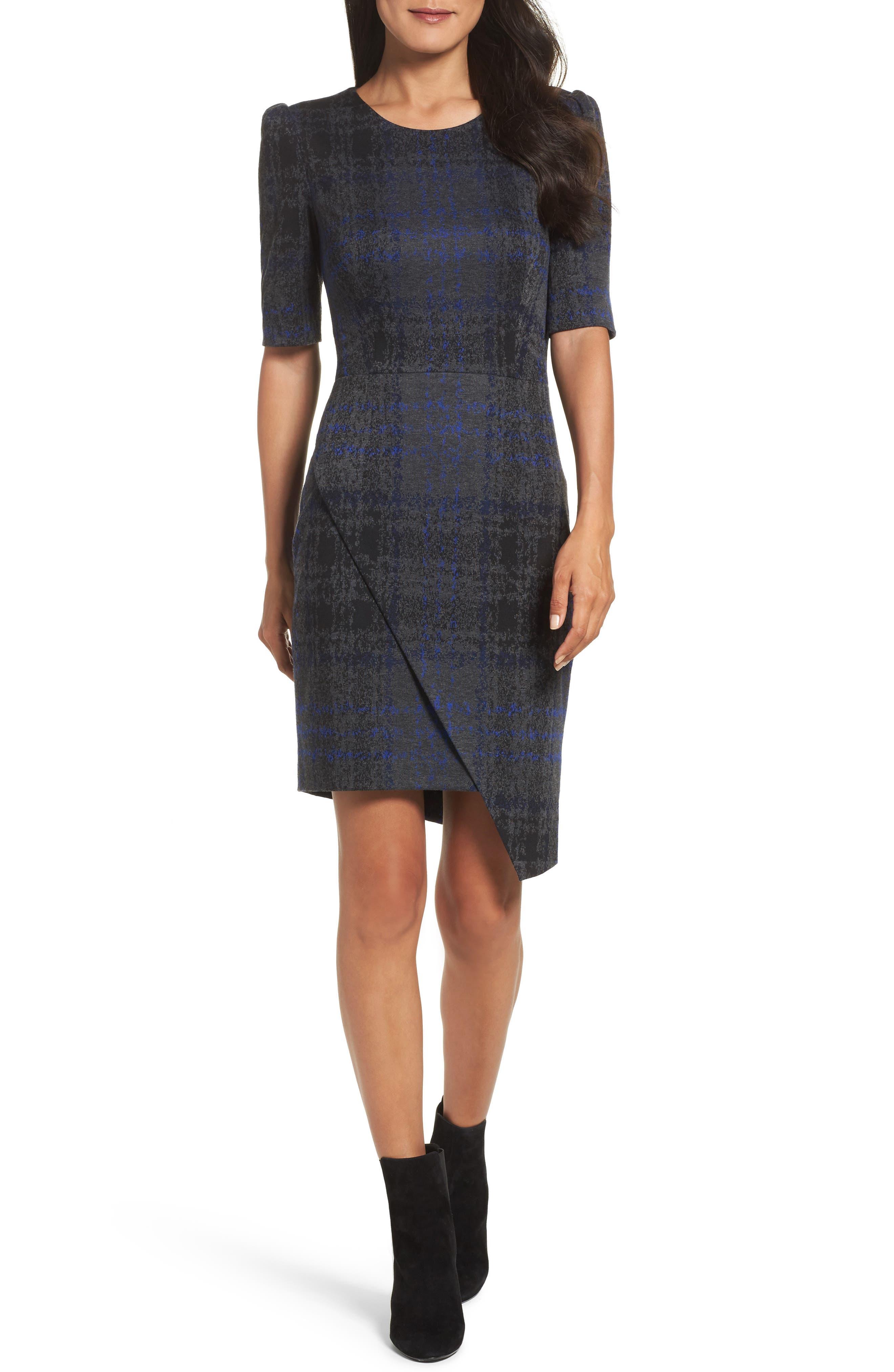 Alternate Image 1 Selected - Betsey Johnson Asymmetrical Dress