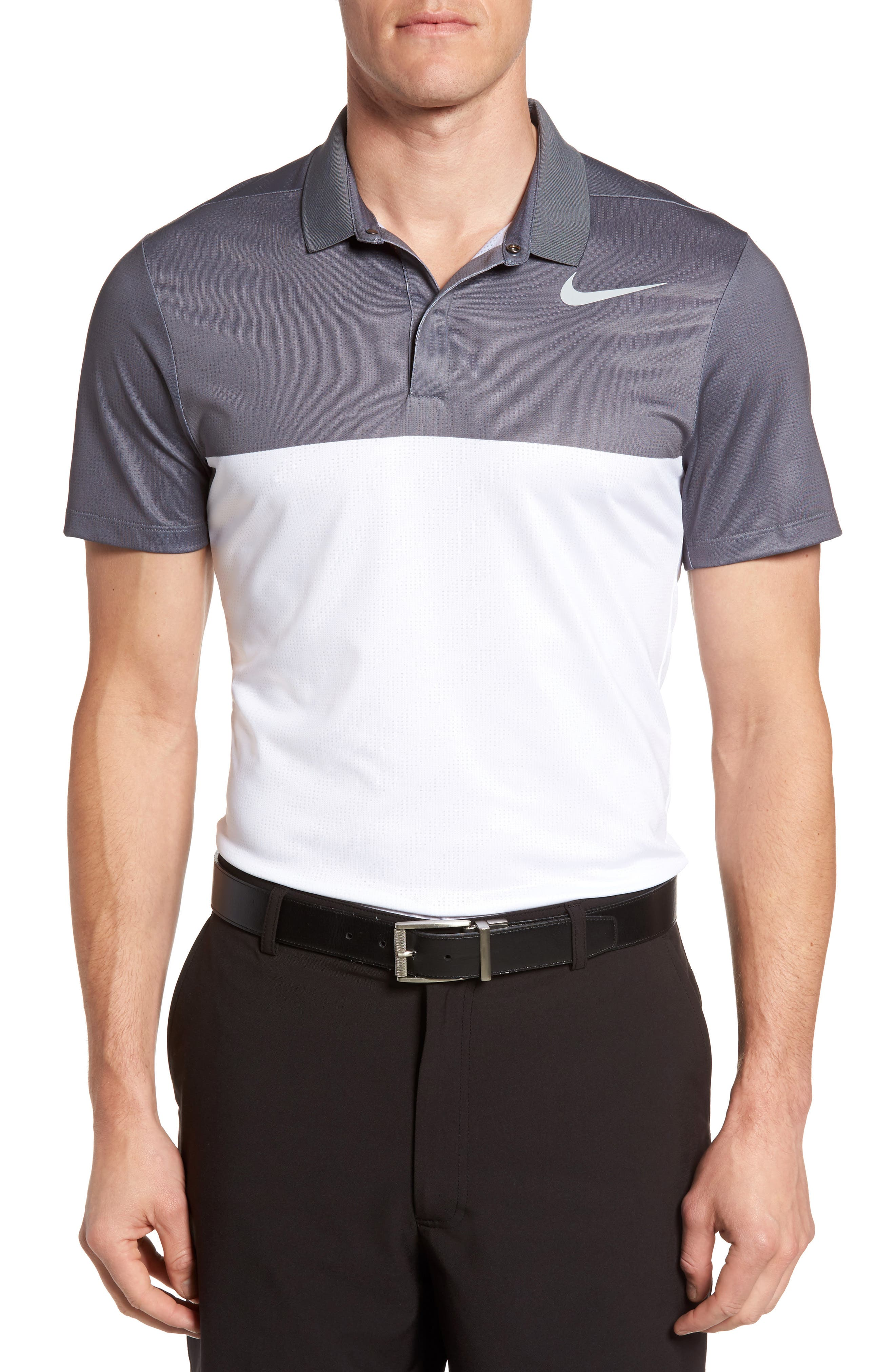 Nike Zonal Cooling Fly Block Slim Fit Golf Polo
