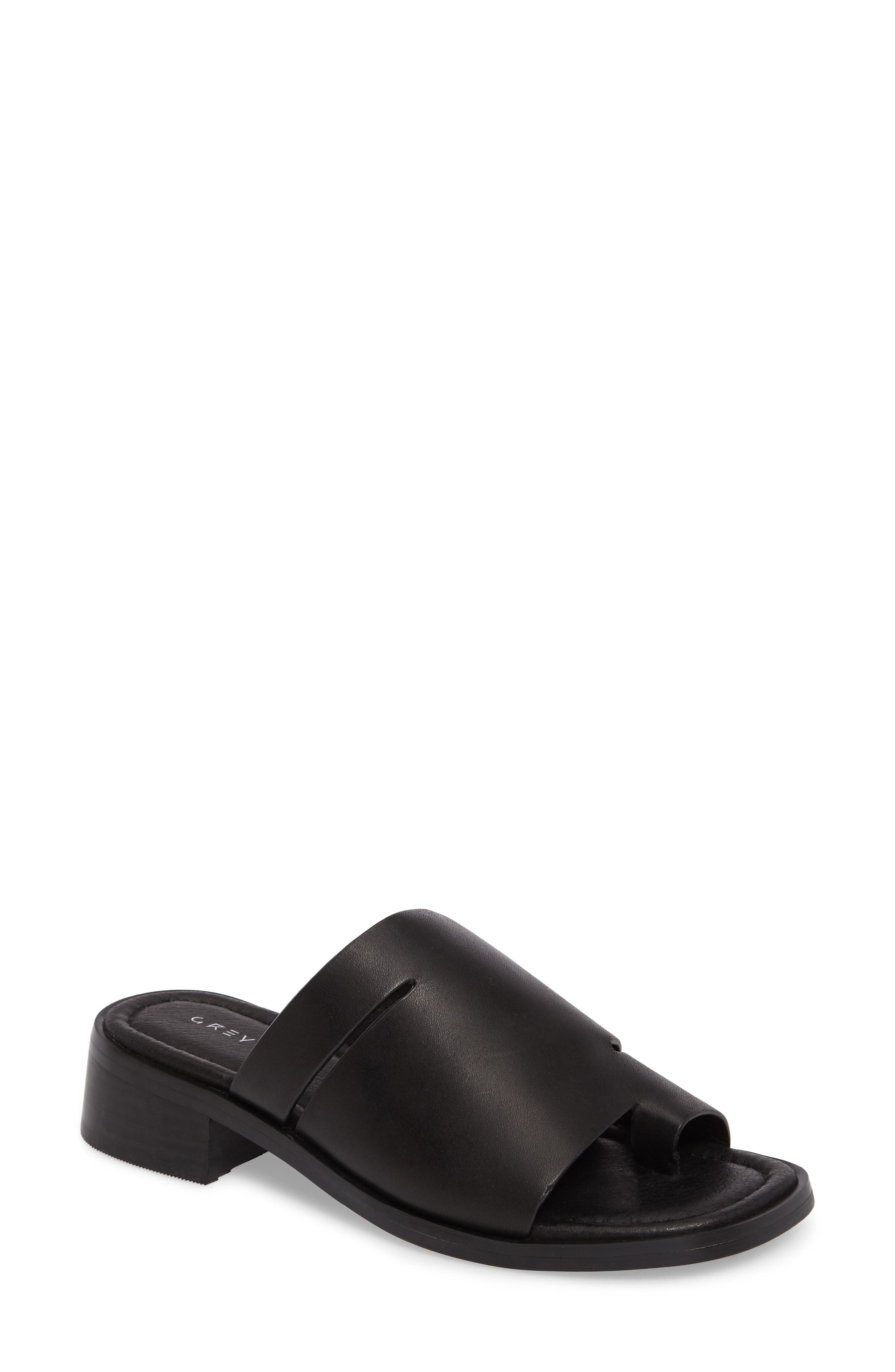 Grey City Percy Toe-Loop Slide Sandal (Women)
