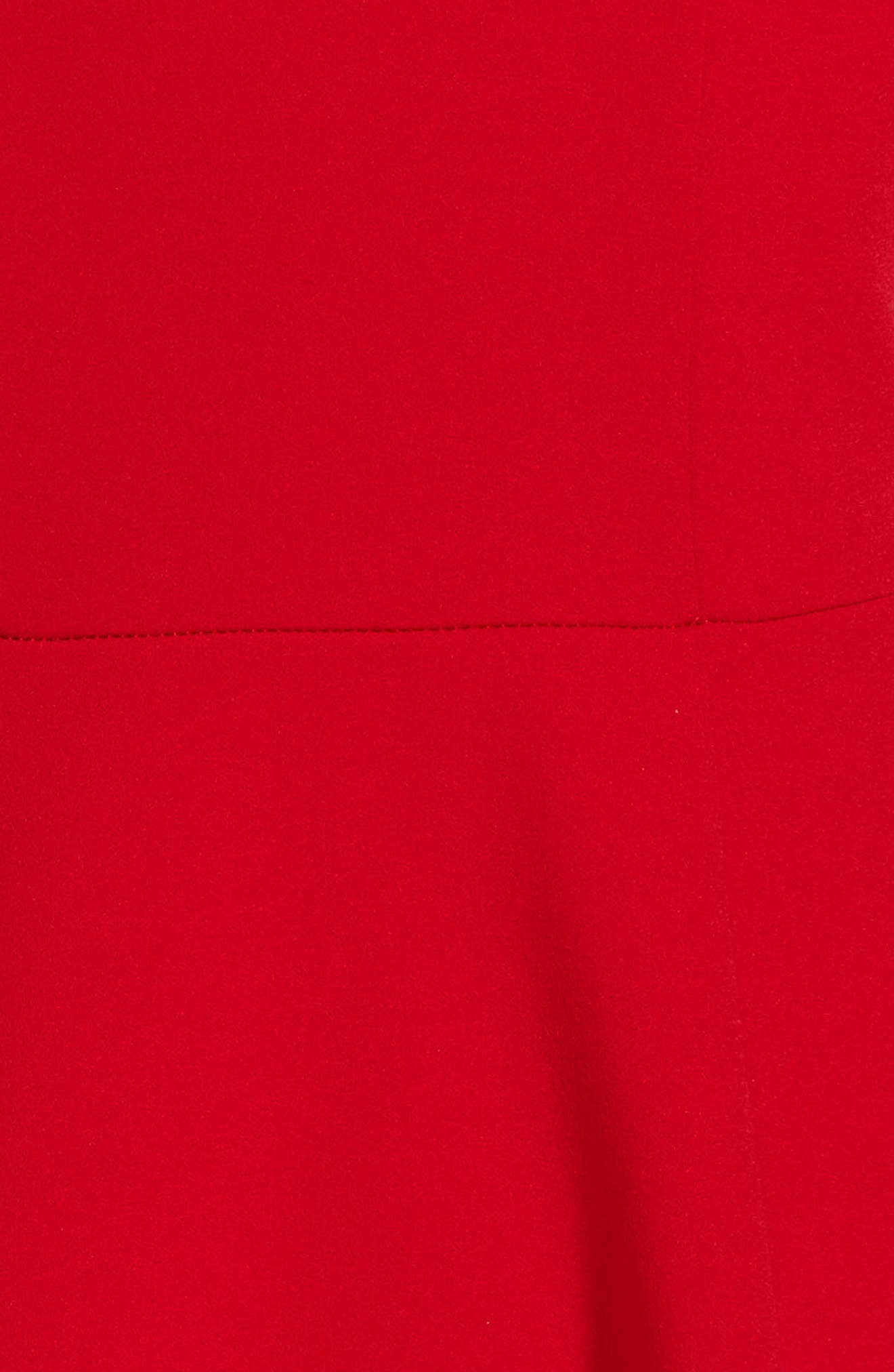 Alternate Image 3  - Love, Nickie Lew Off the Shoulder Ruffle Dress (Big Girls)