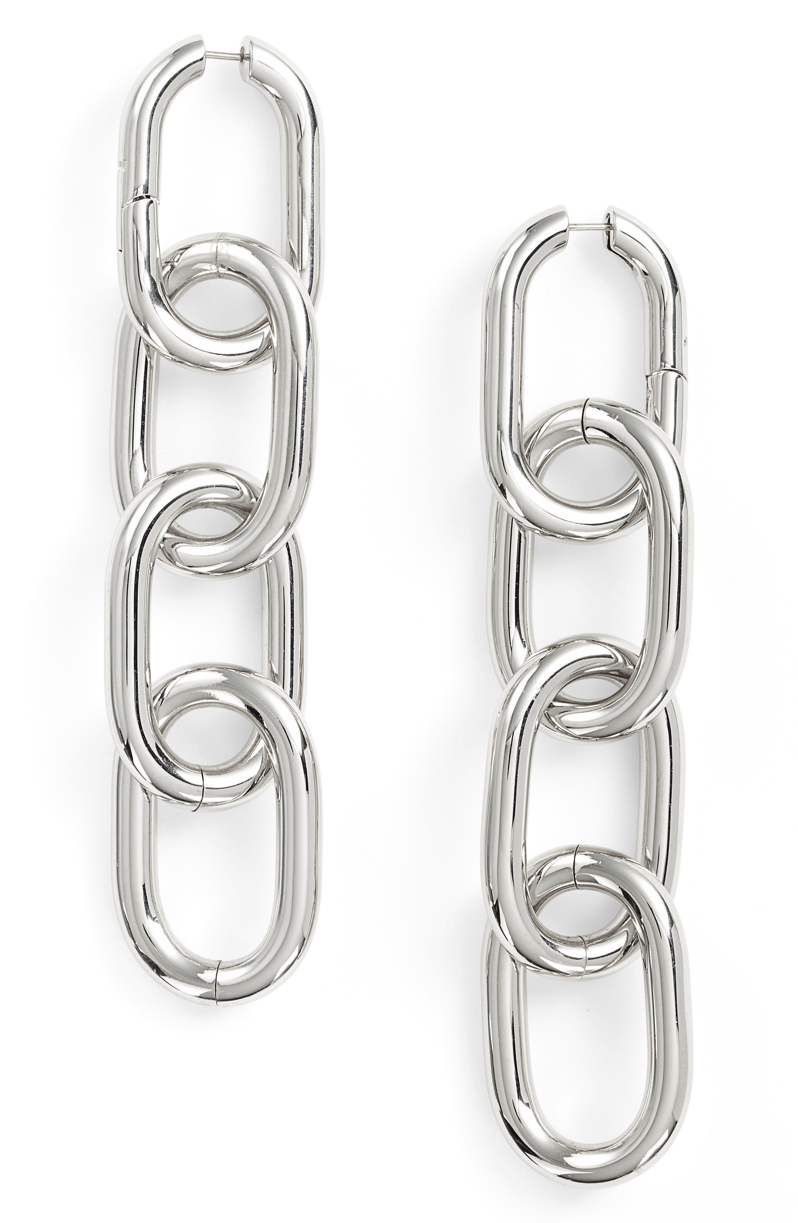 ALEXANDER WANG Broken Link Earings
