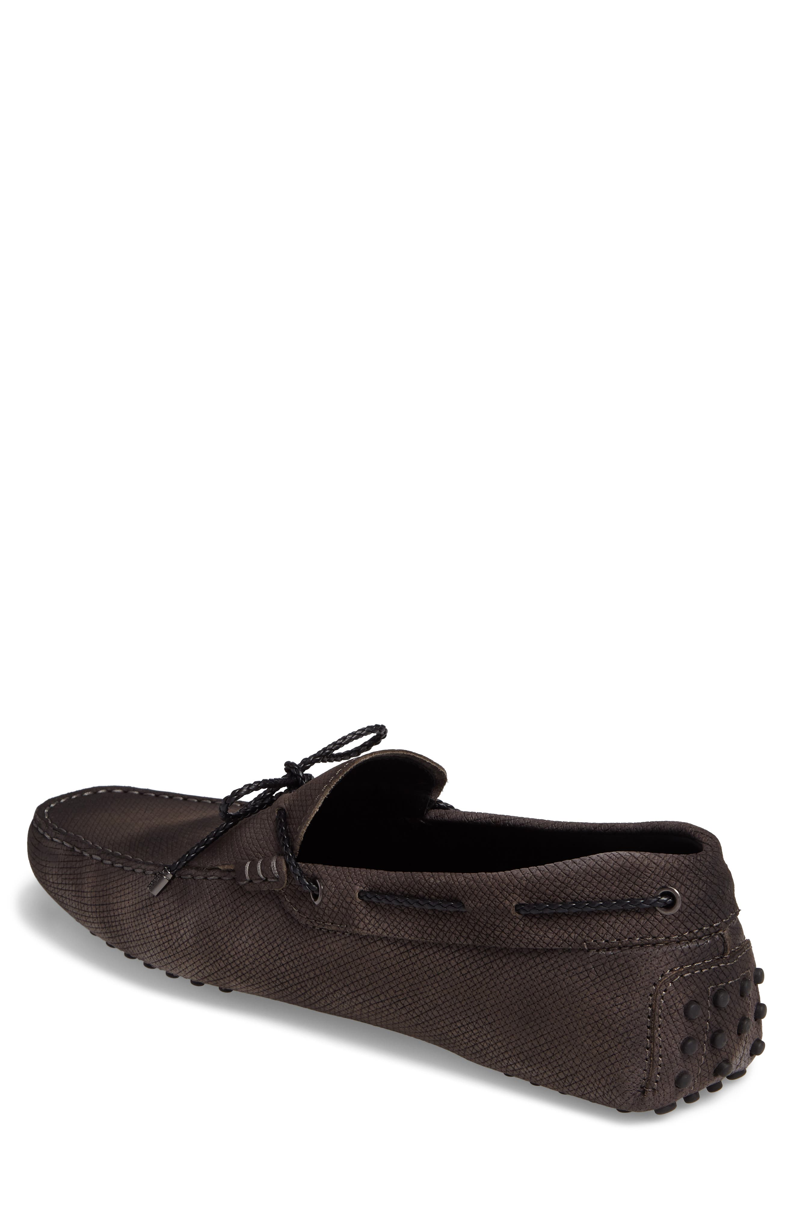 Alternate Image 2  - Tod's Gommin Textured Driving Shoe (Men)