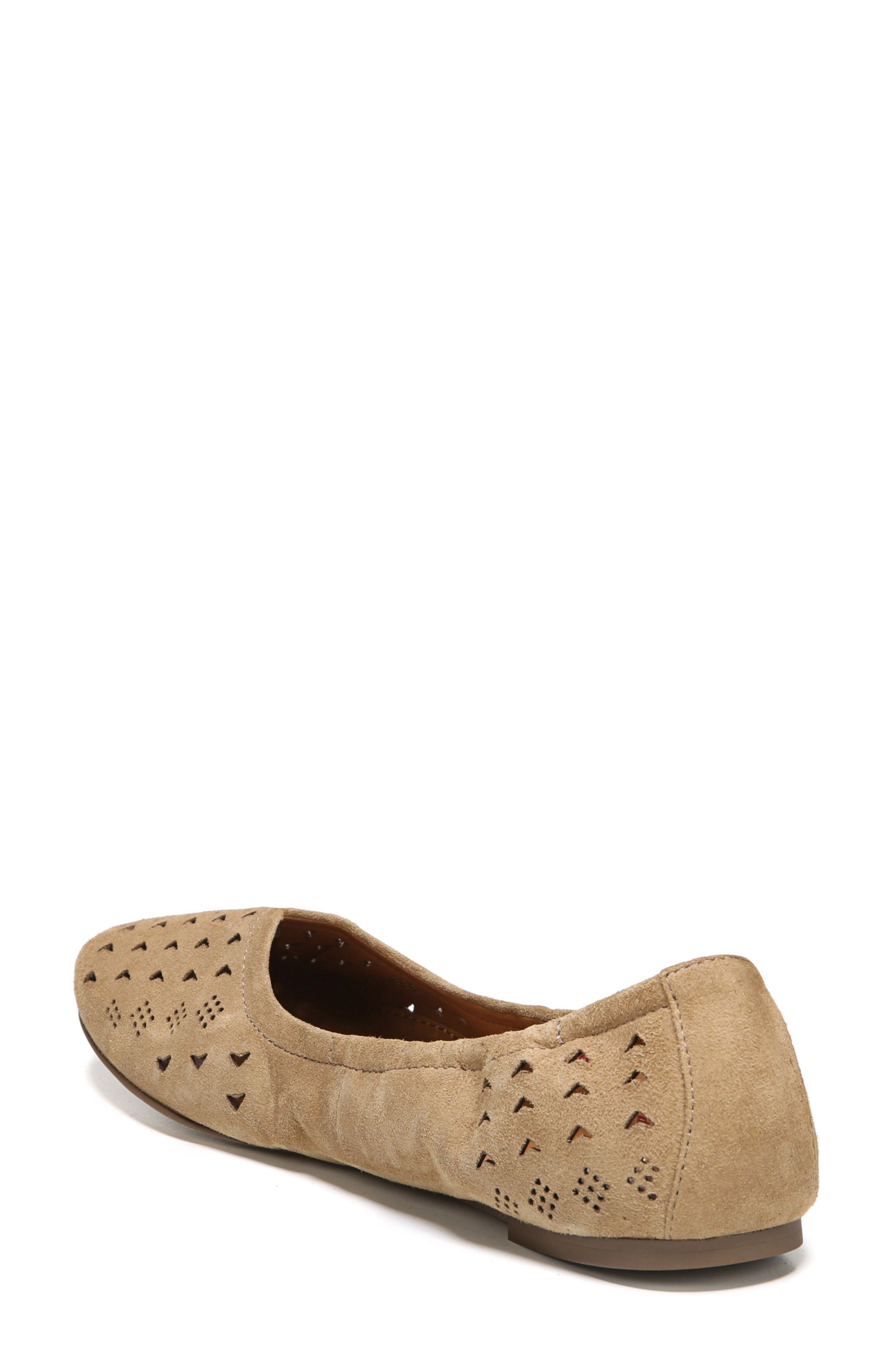 Alternate Image 2  - SARTO by Franco Sarto Brewer Perforated Ballet Flat (Women)