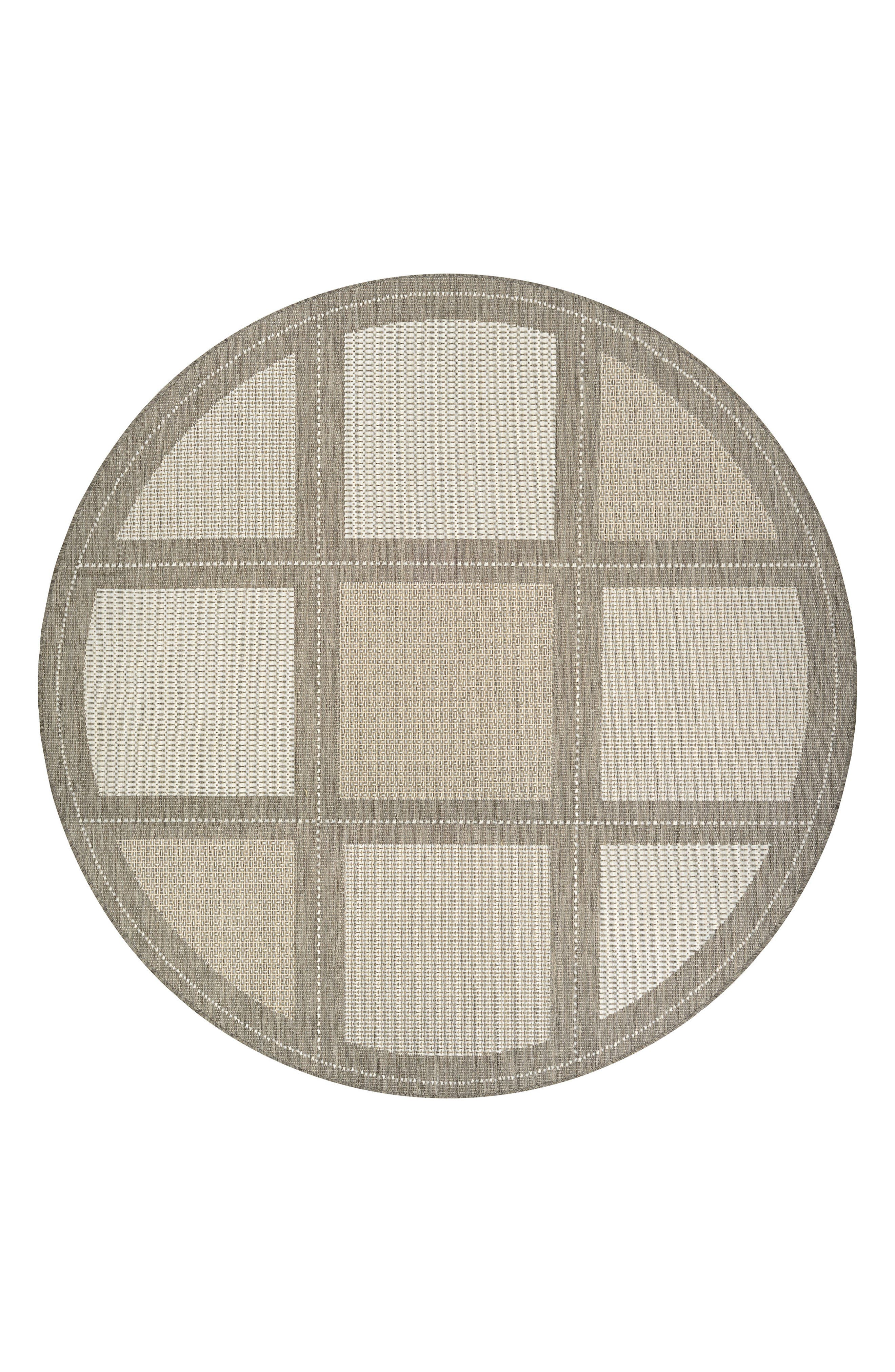 Summit Indoor/Outdoor Rug,                         Main,                         color, Champagne/ Taupe