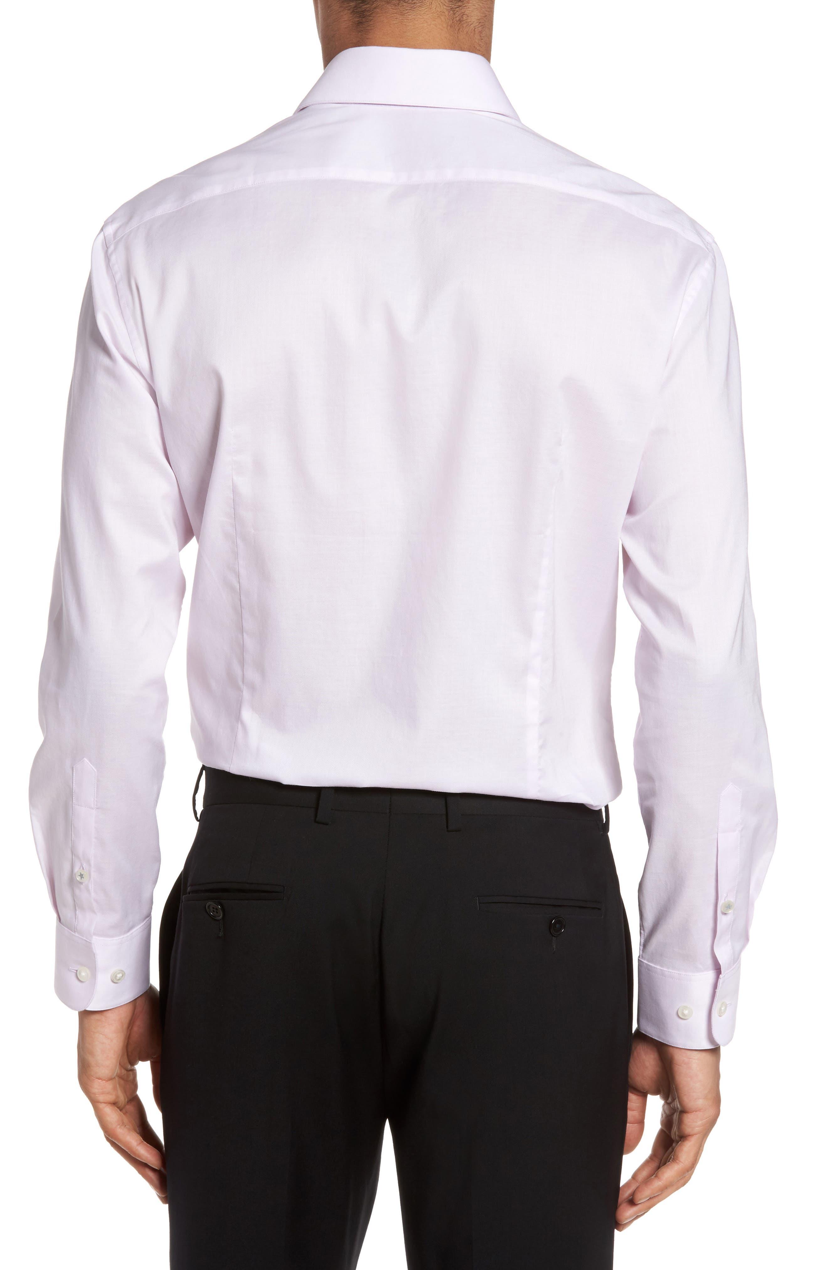 Alternate Image 3  - John Varvatos Star USA Slim Fit Solid Stretch Dress Shirt