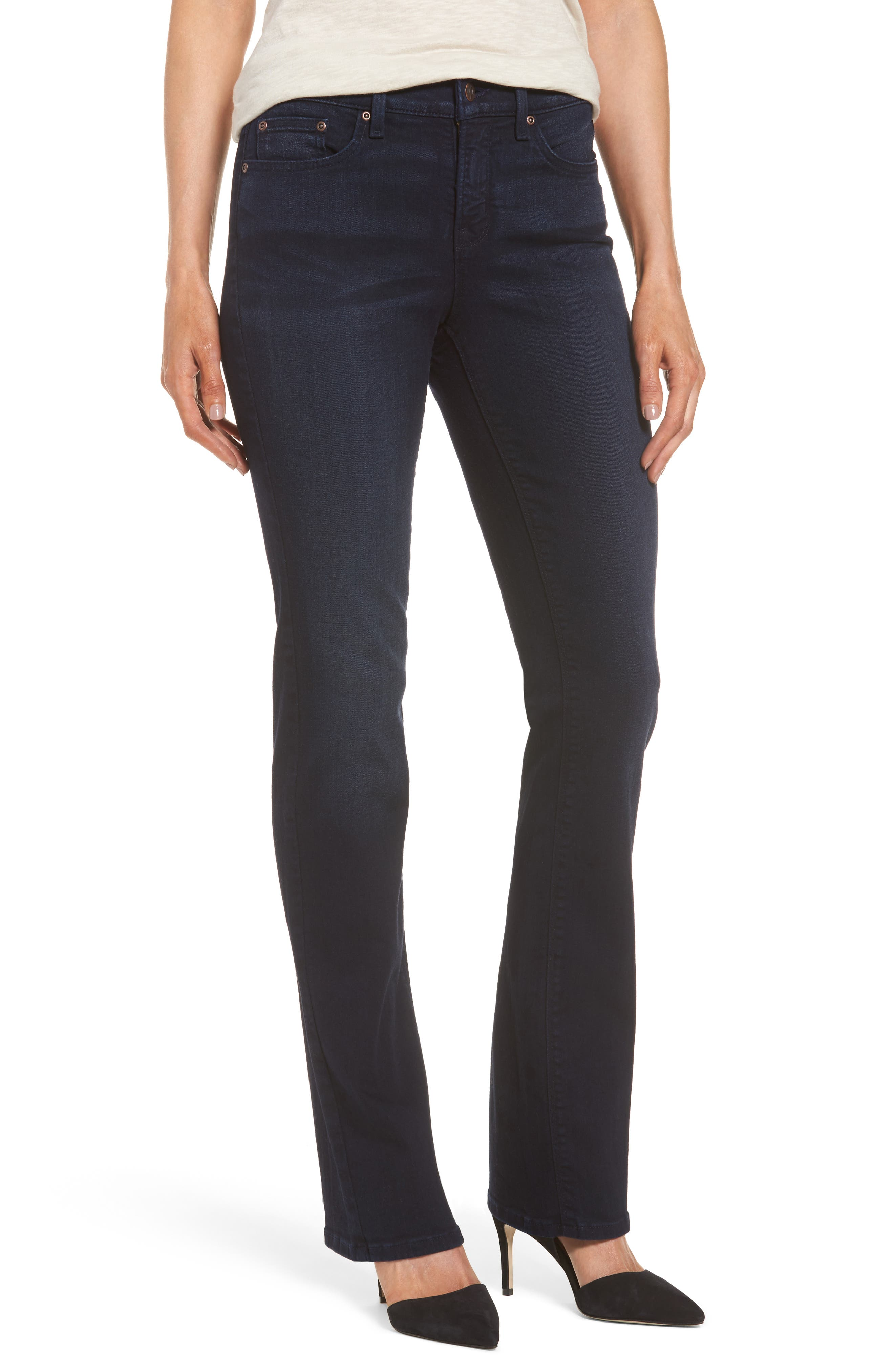 NYDJ Barbara Stretch Bootcut Jeans (Sinclair) (Regular & Petite)