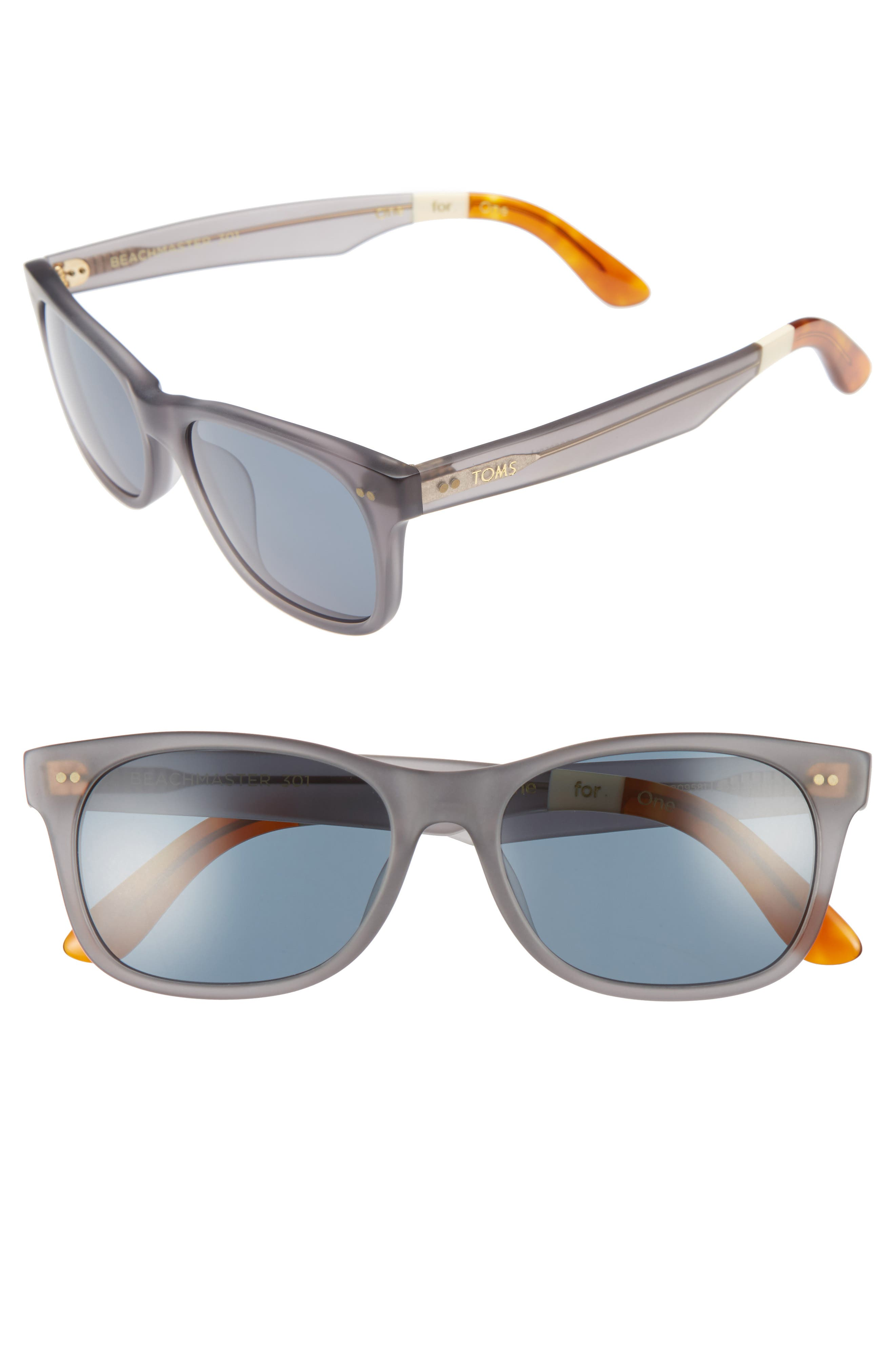 TOMS Beachmaster 55mm Sunglasses