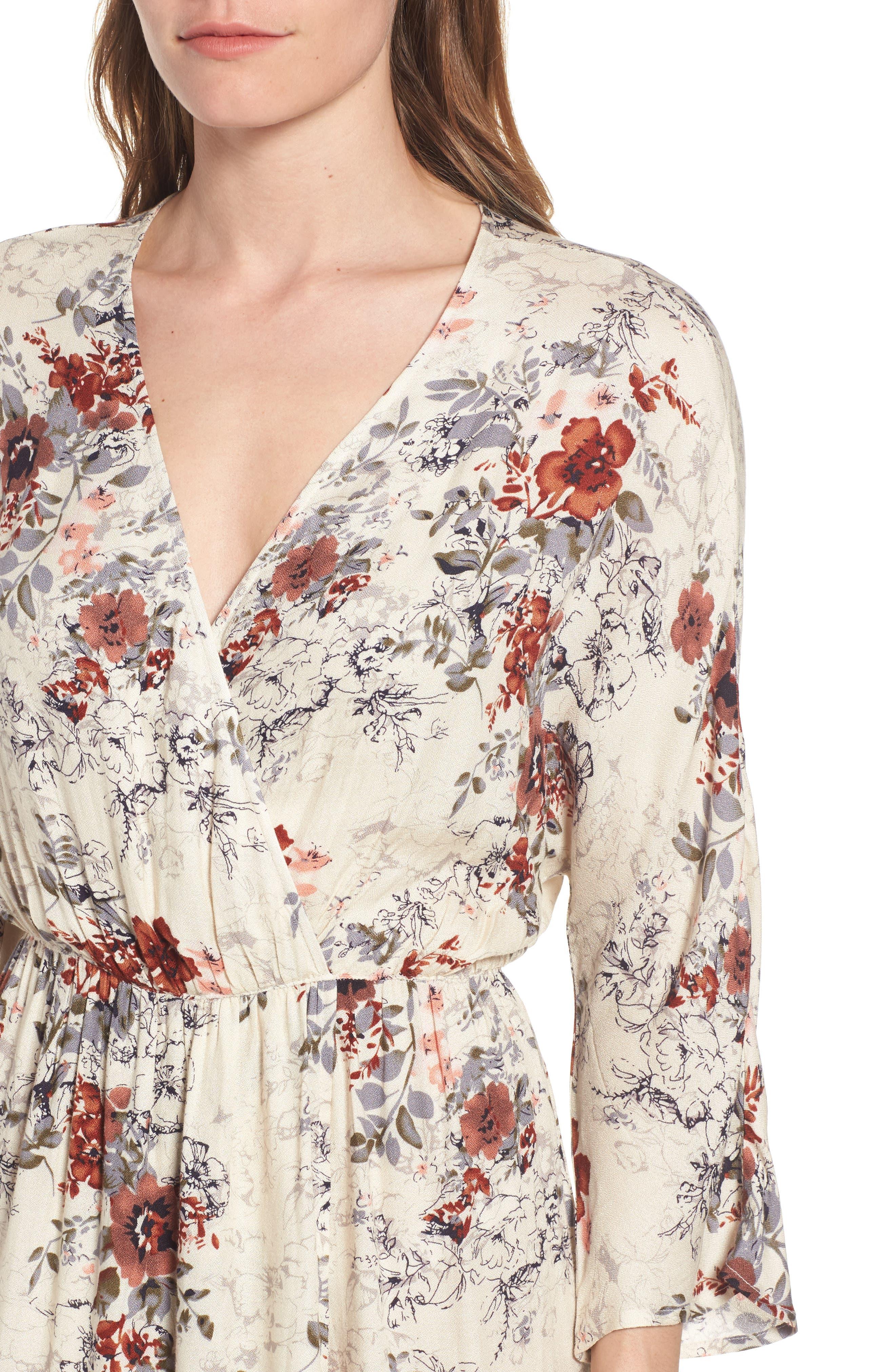 Alternate Image 4  - Hinge Blouson Maxi Dress
