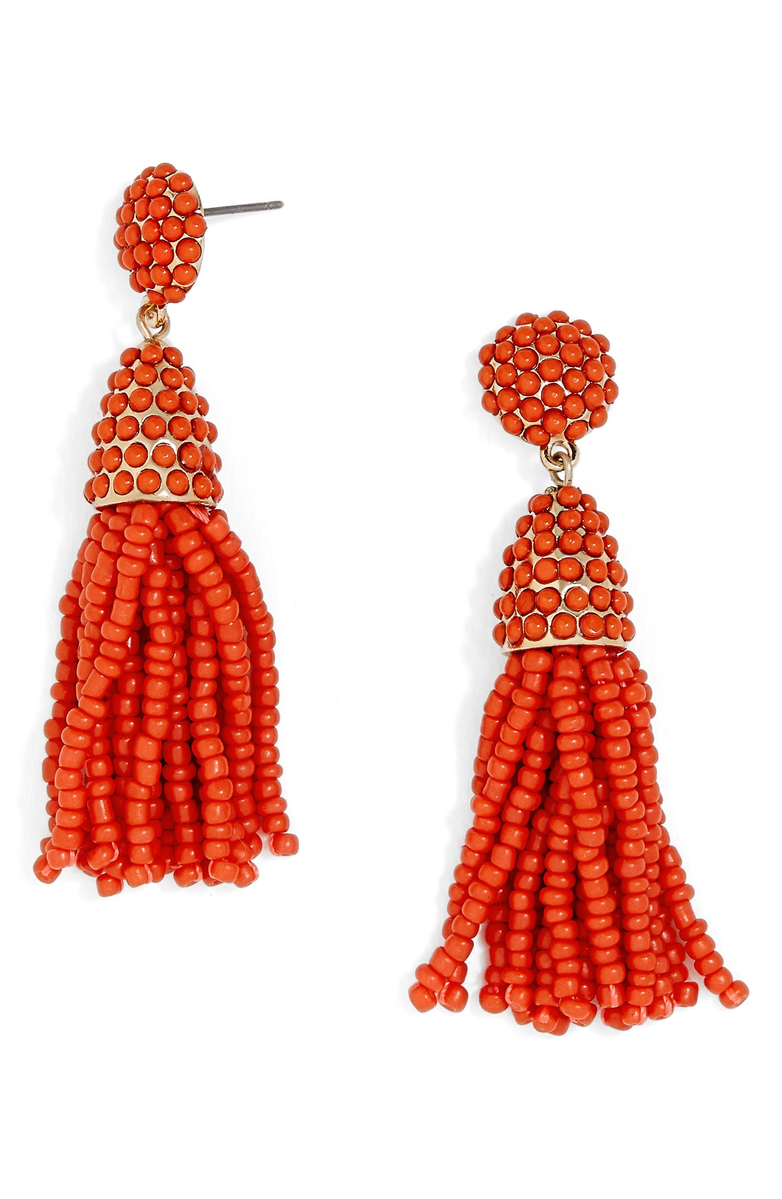 Main Image - BaubleBar Mini Pinata Tassel Drop Earrings