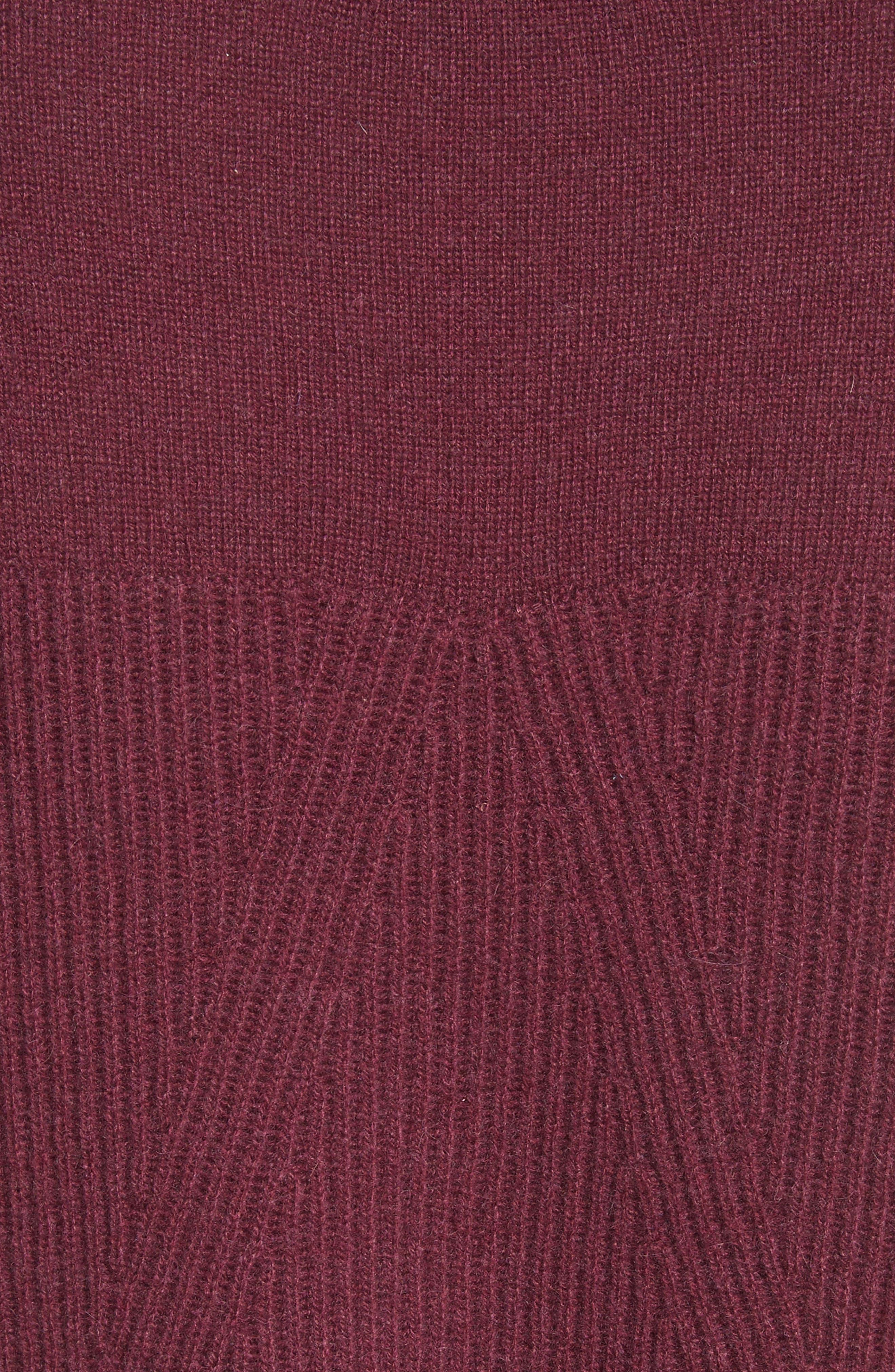 Alternate Image 5  - rag & bone Ace Cashmere Crop Sweater