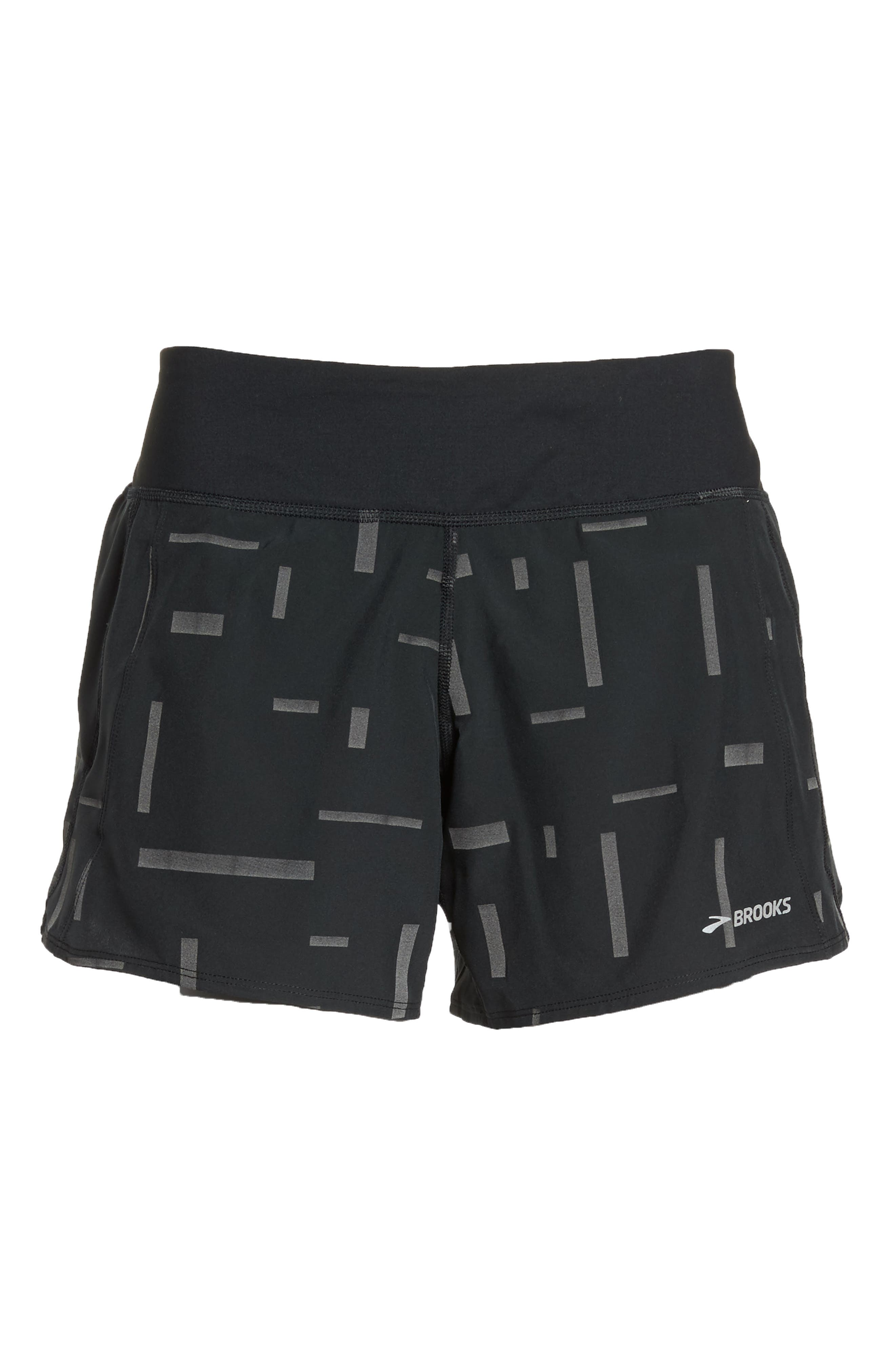 Chaser Running Shorts,                             Alternate thumbnail 7, color,                             Comet Reflective