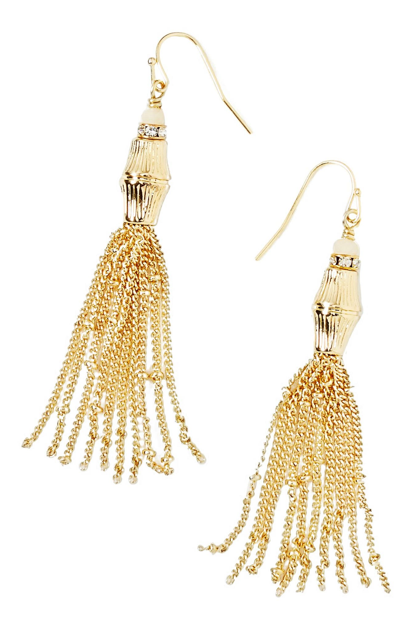 LILLY PULITZER<SUP>®</SUP> Bamboo Chain Tassel Earrings