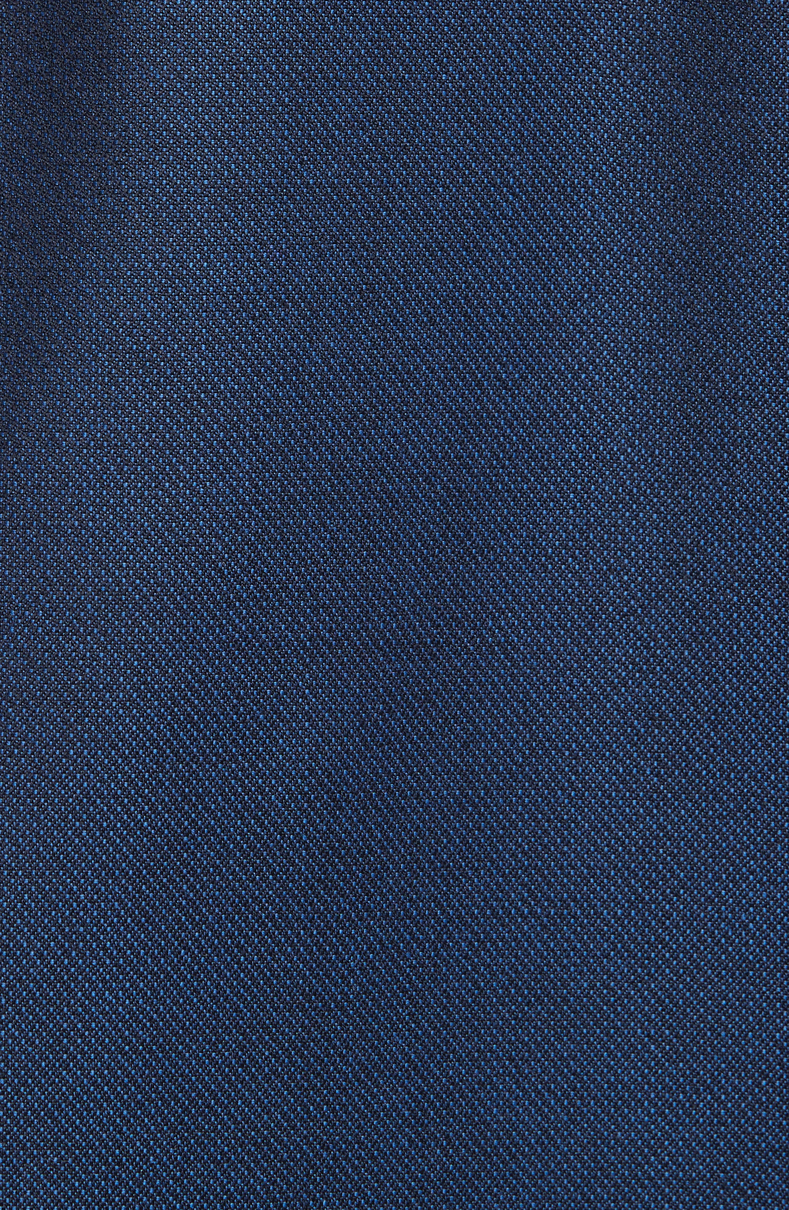 Alternate Image 7  - Canali Classic Fit Solid Wool Suit