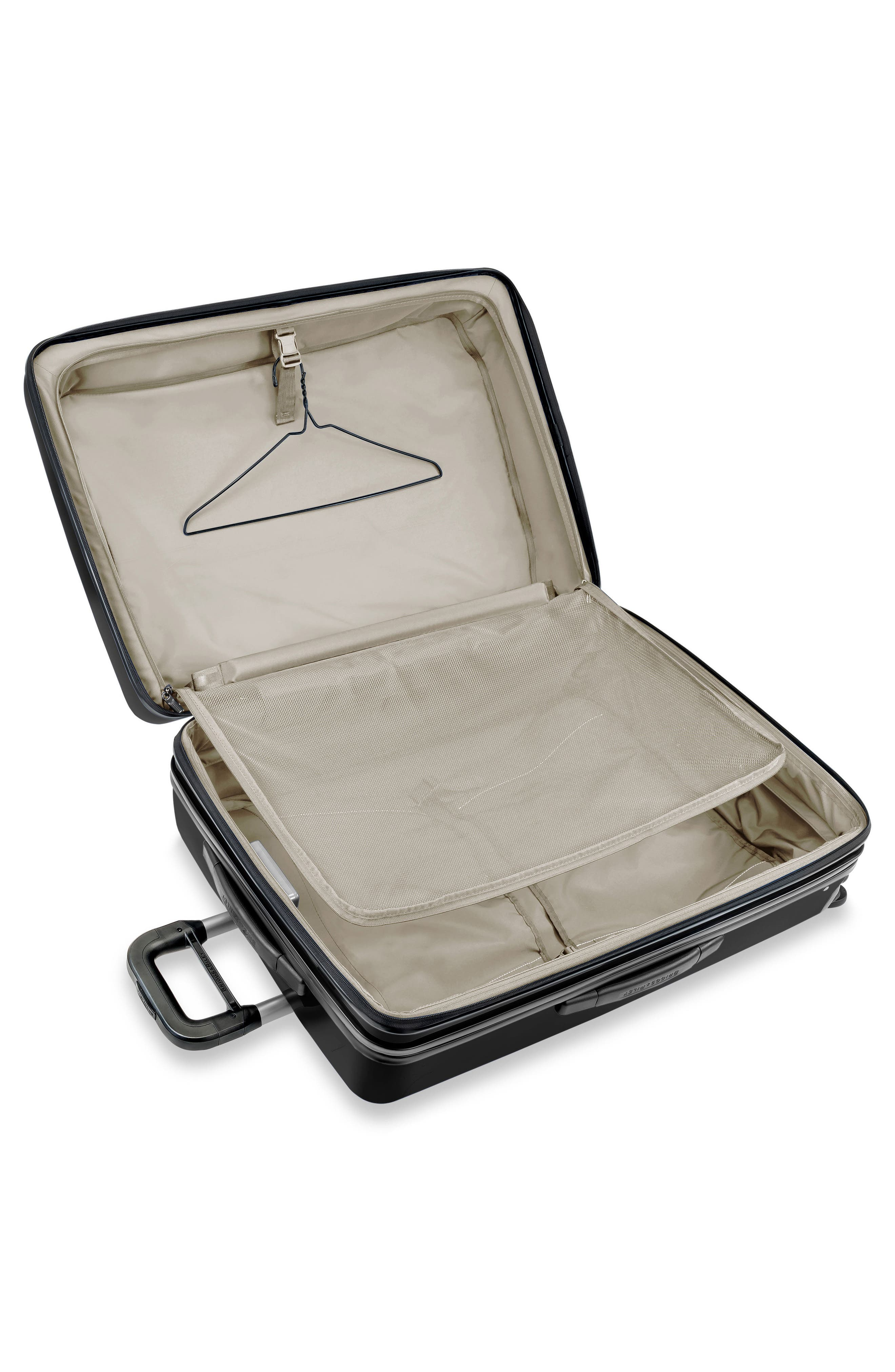 Sympatico 30-Inch Expandable Wheeled Packing Case,                             Alternate thumbnail 3, color,                             Onyx