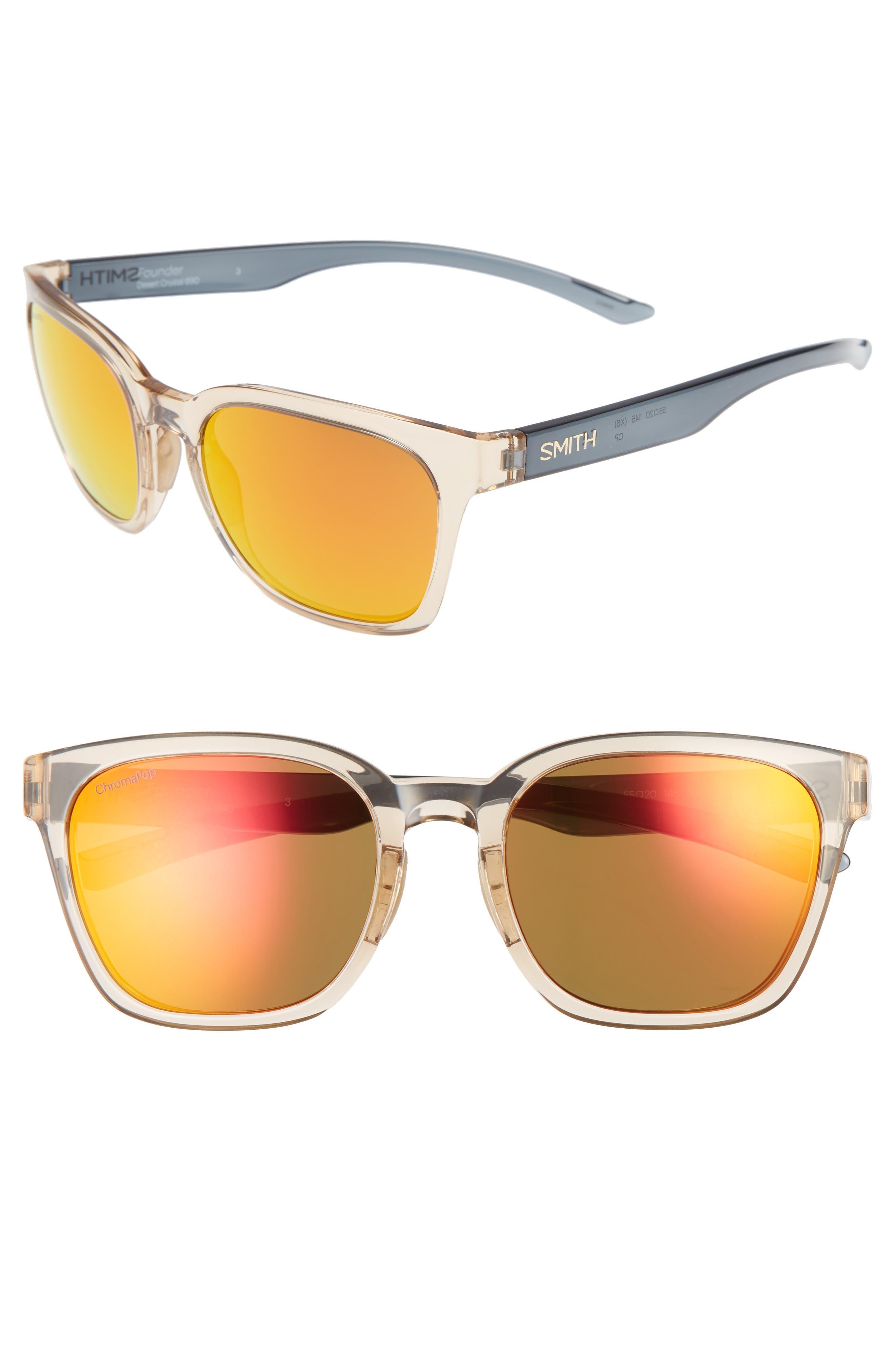 SMITH Founder 55mm ChromaPop Polarized Sunglasses