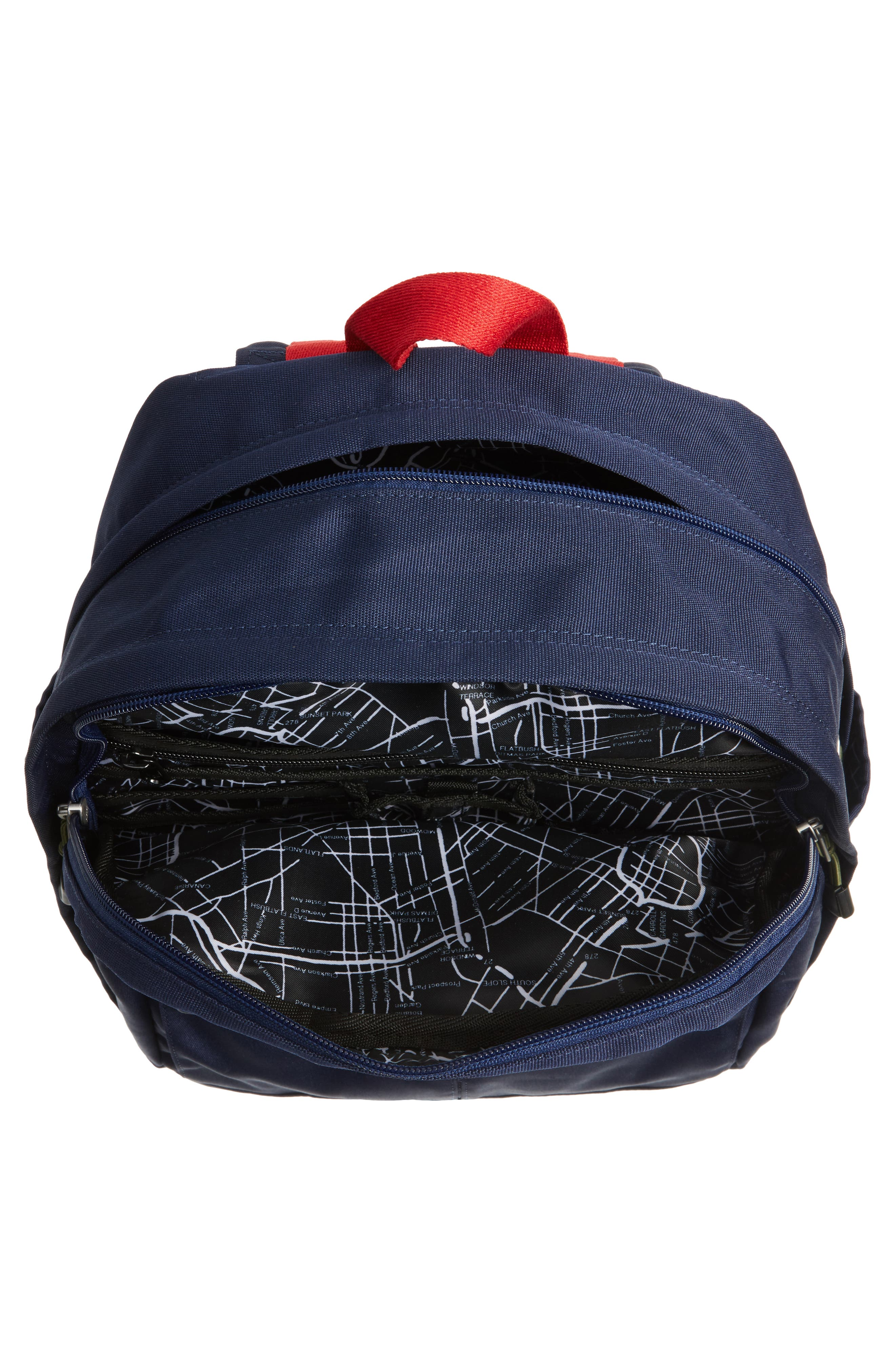 Williamsburg Bedford Backpack,                             Alternate thumbnail 4, color,                             Navy