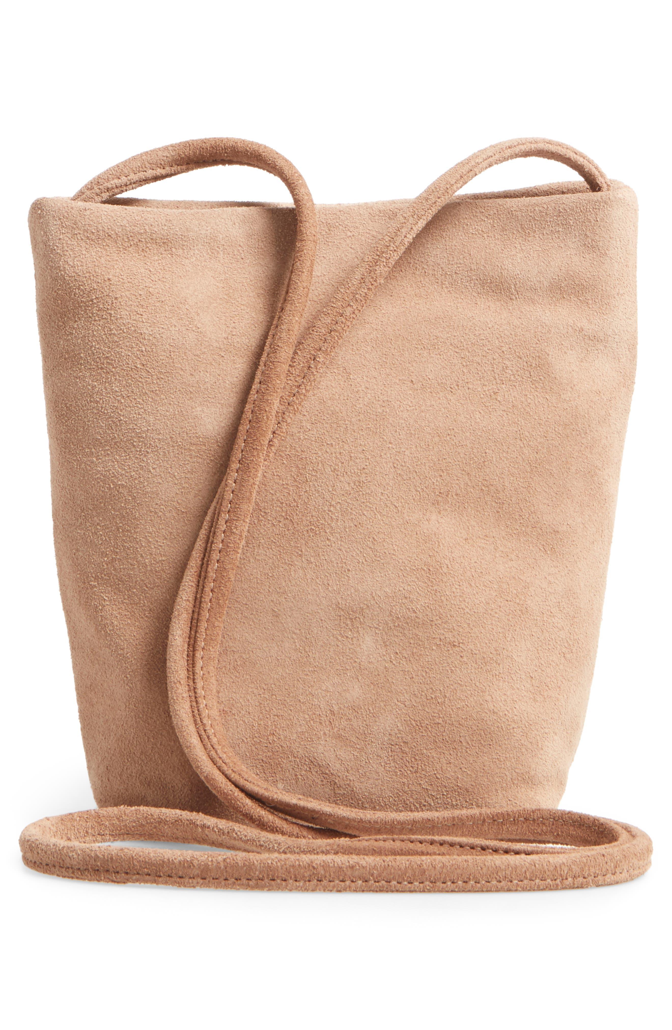 Alternate Image 2  - Baggu Leather Crossbody Bag