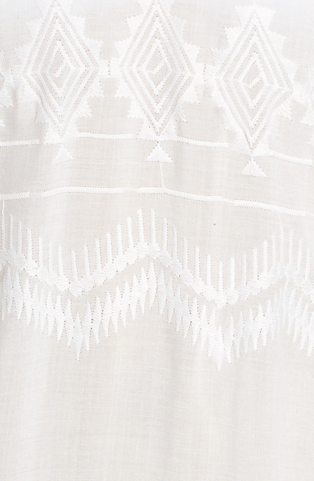 Alternate Image 4  - La Blanca Cover-Up Tunic