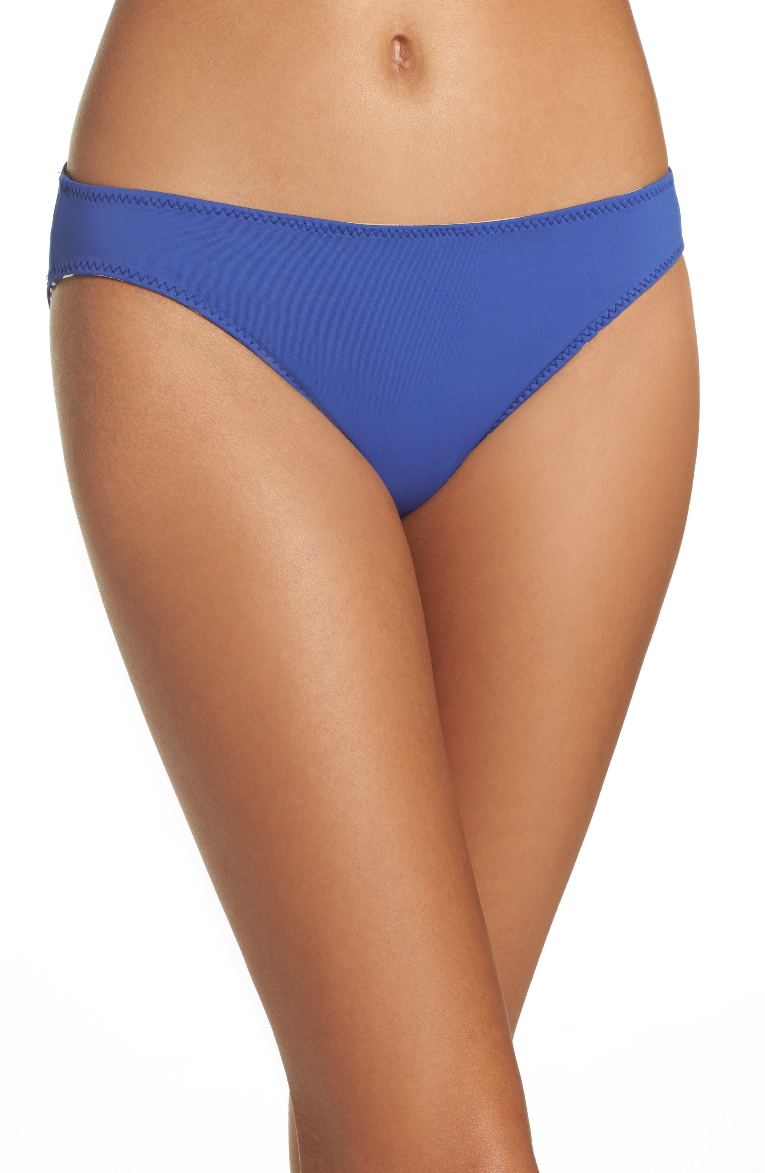 Reversible Hipster Bikini Bottoms,                             Alternate thumbnail 2, color,                             Dark Blue