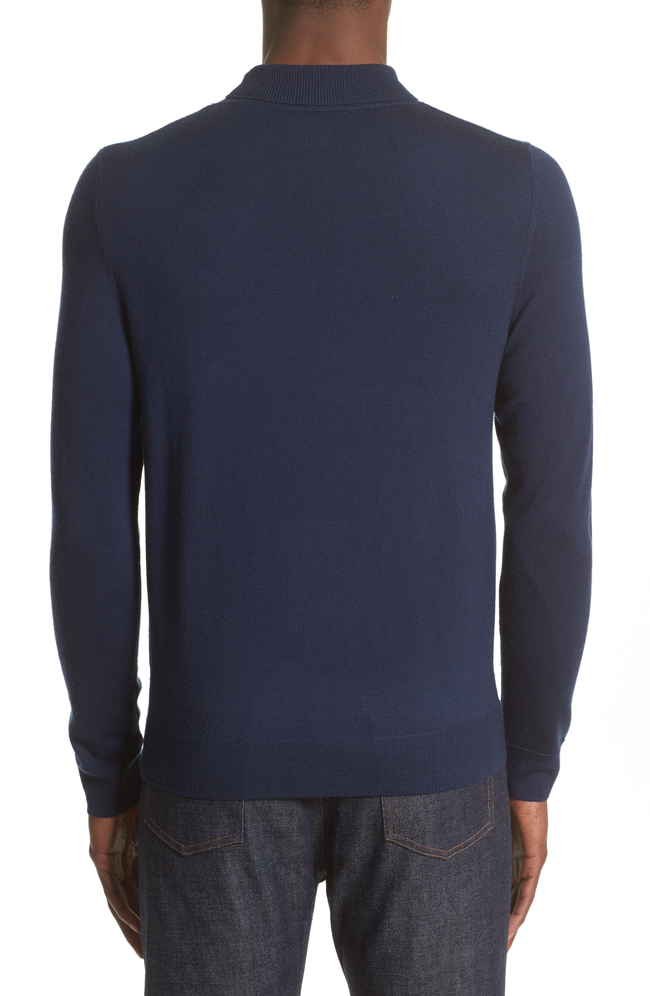 Alternate Image 2  - A.P.C. Dundee Mock Neck Sweater