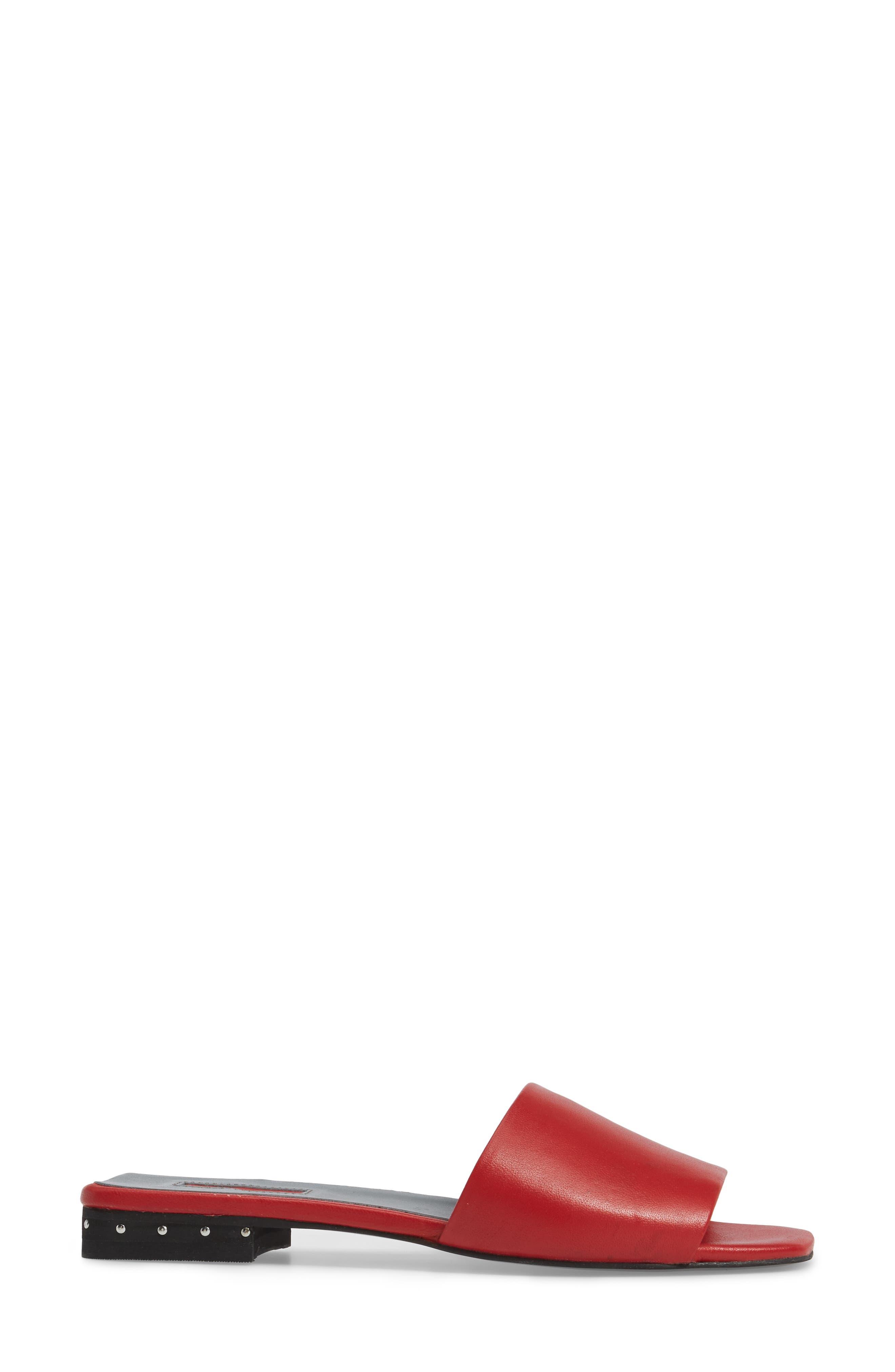 Alternate Image 3  - Topshop Fern Studded Slide Sandal (Women)