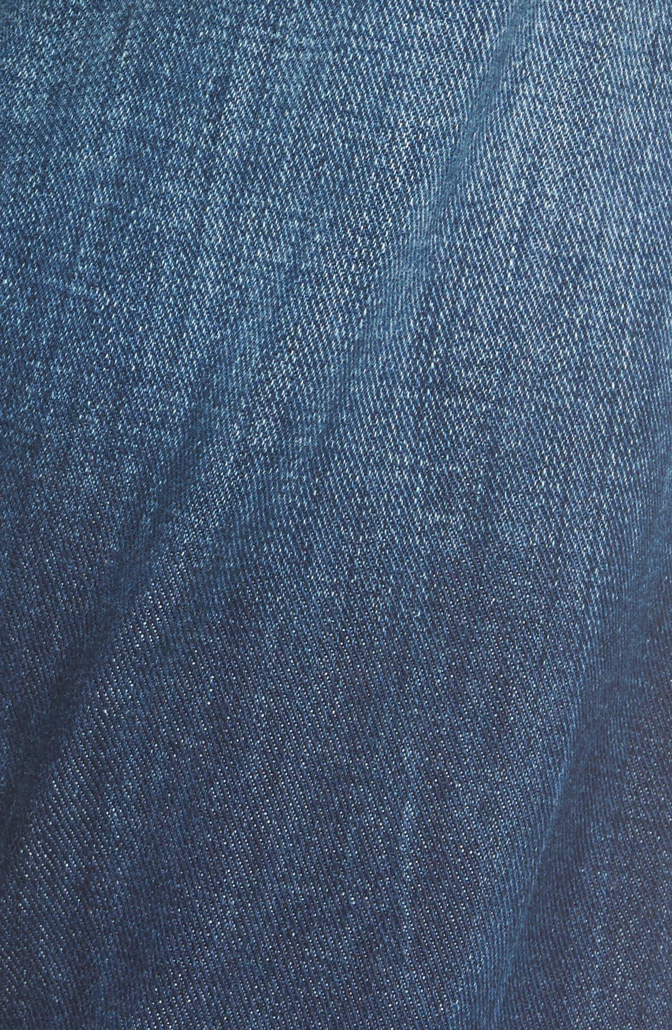 Cameron Destroyed Boyfriend Jeans,                             Alternate thumbnail 5, color,                             Celestial Sky