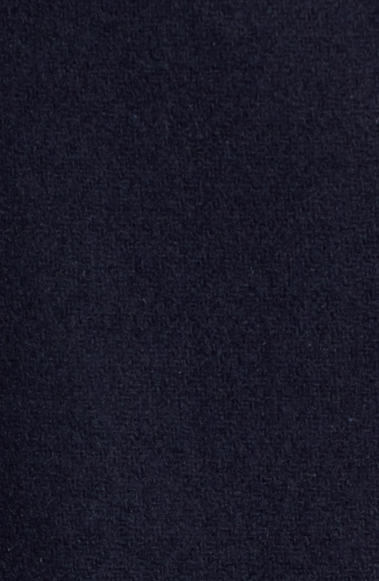 Alternate Image 5  - French Connection Back Belt Wool Blend Peacoat