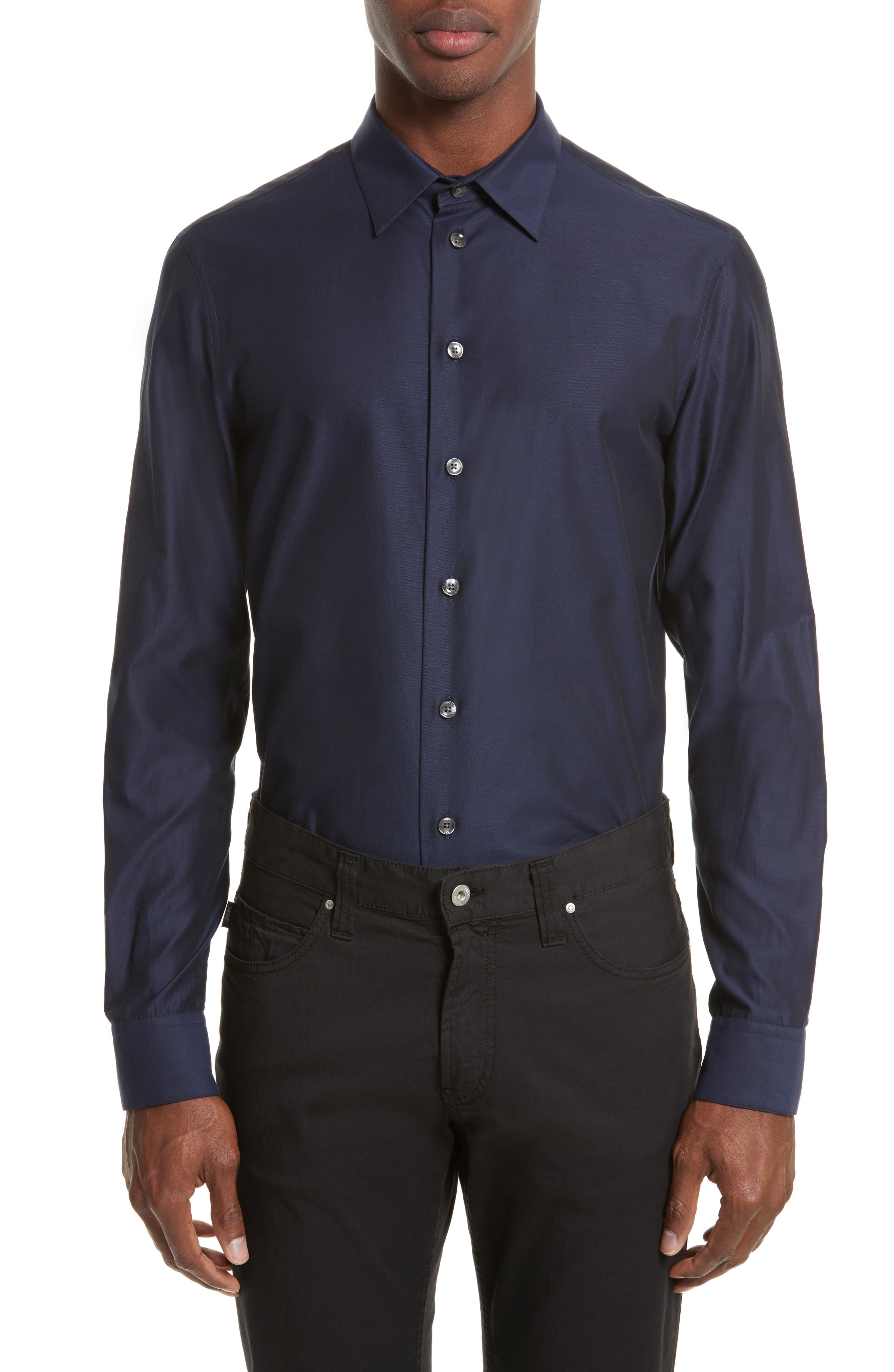 Sport Shirt,                         Main,                         color, Blue