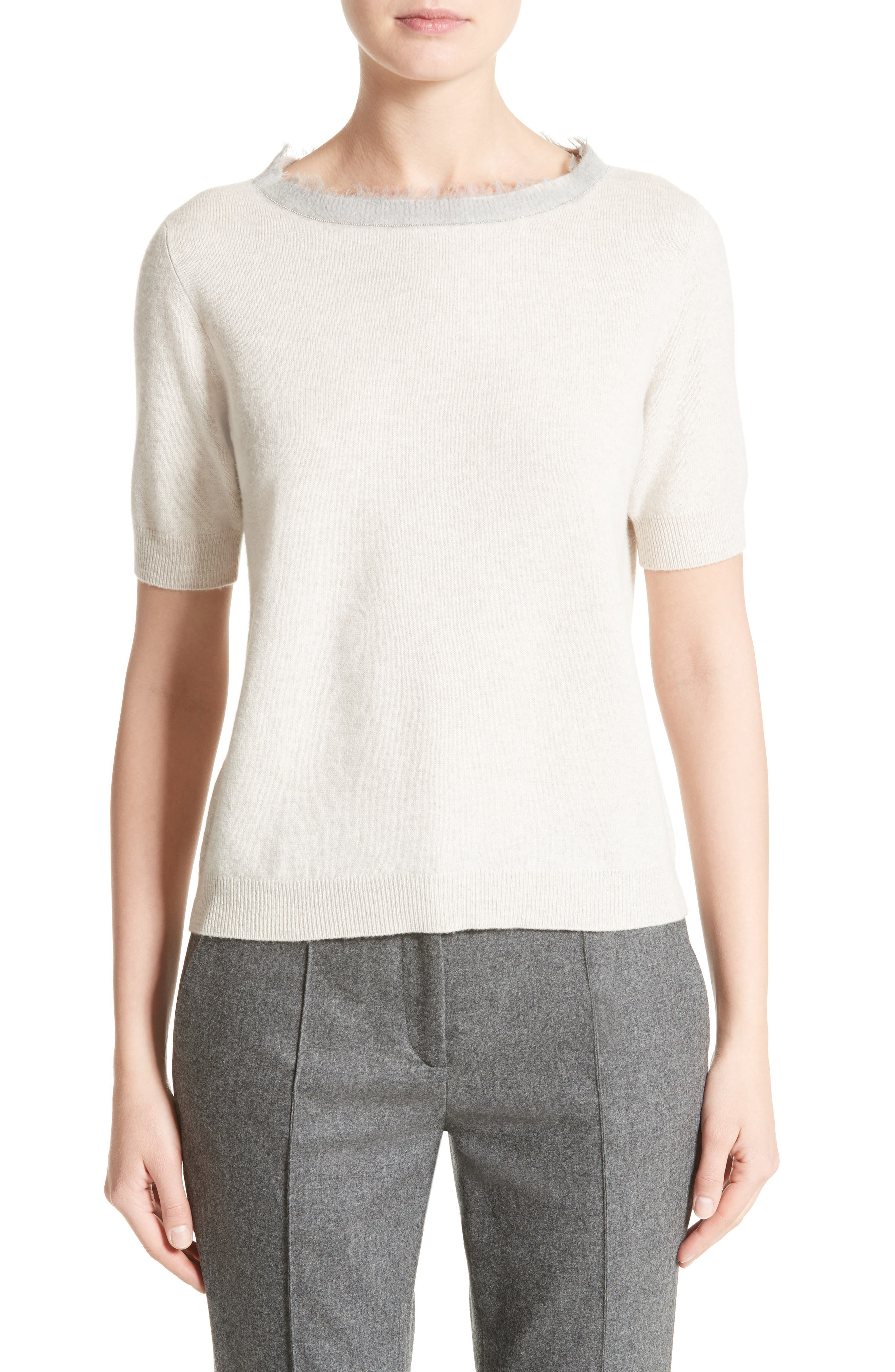 Fabiana Filippi Wool, Silk & Cashmere Sweater