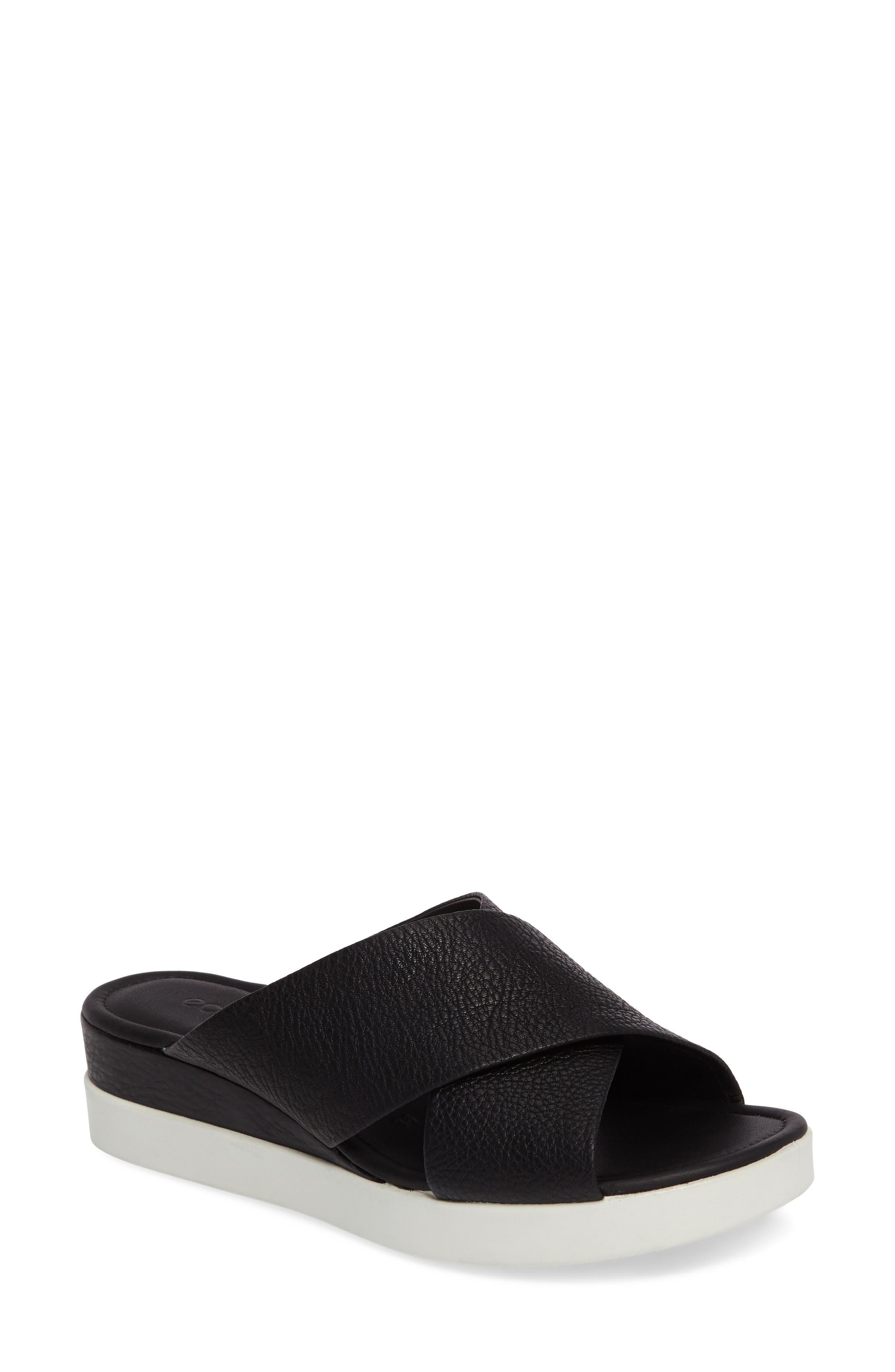 Alternate Image 1 Selected - ECCO Touch Slide Sandal (Women)