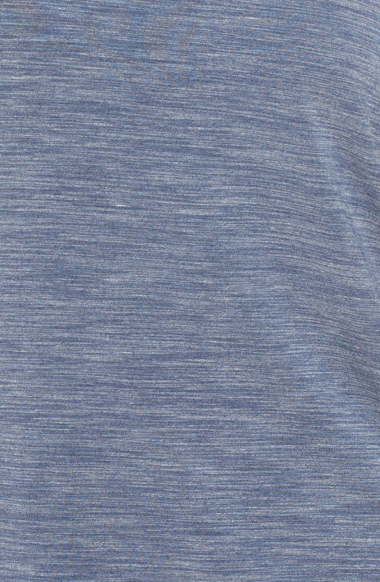 City Essentials Lounge Top,                             Alternate thumbnail 5, color,                             Blue Prt