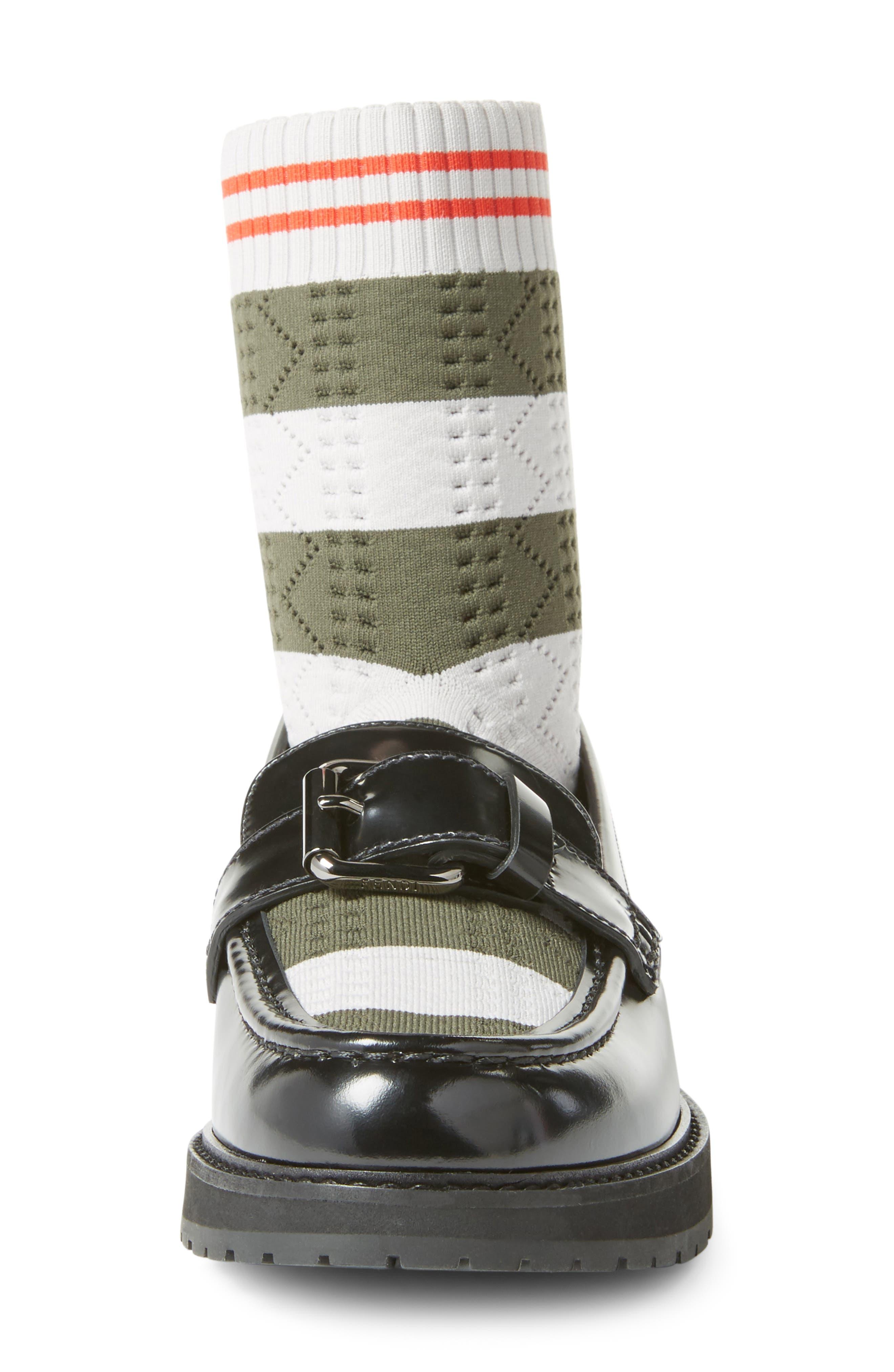 Alternate Image 4  - Fendi Marie Antoinette Sock Loafer (Women)