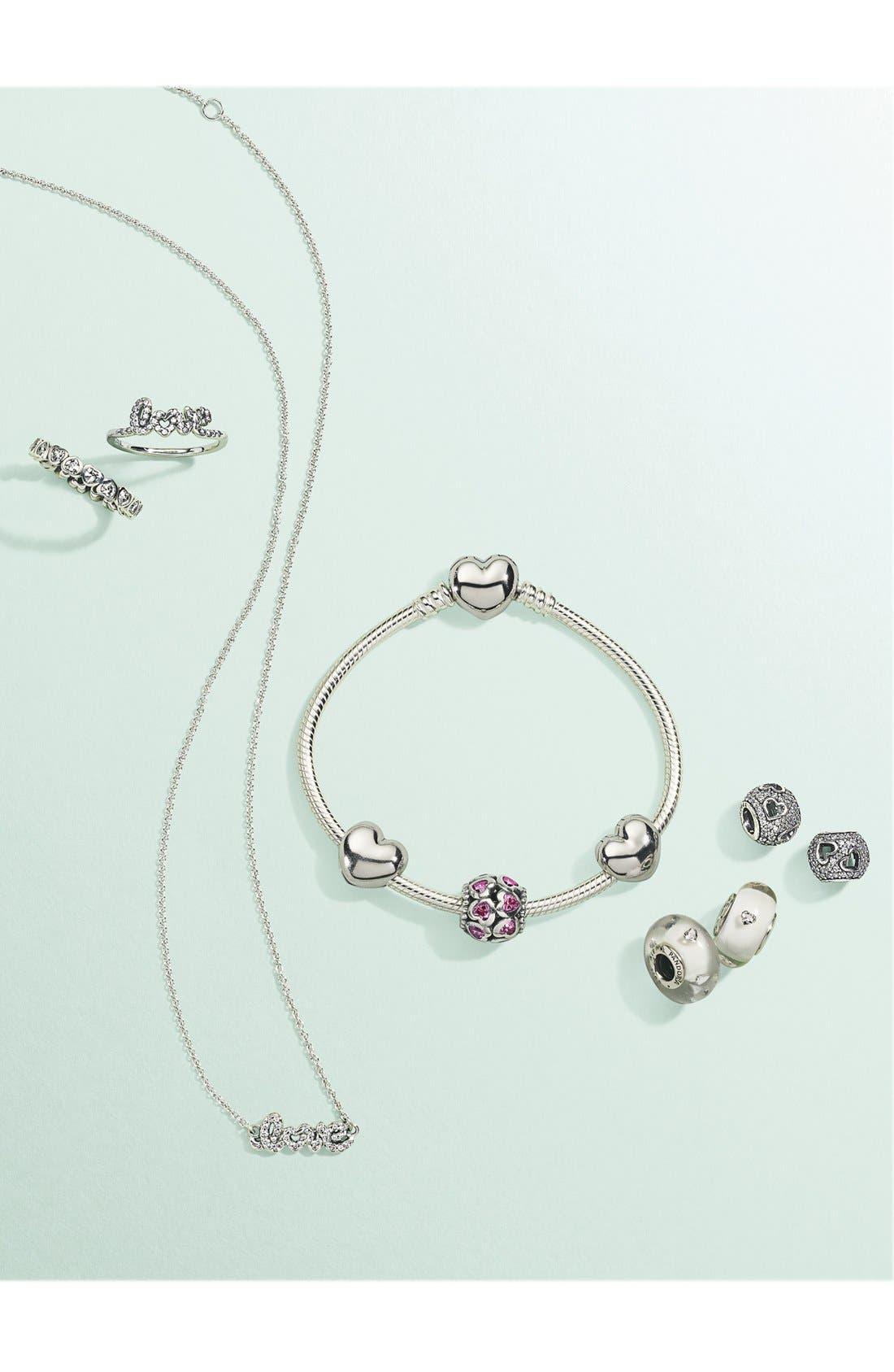 Alternate Image 3  - PANDORA 'From the Heart' Boxed Charm Bracelet Set
