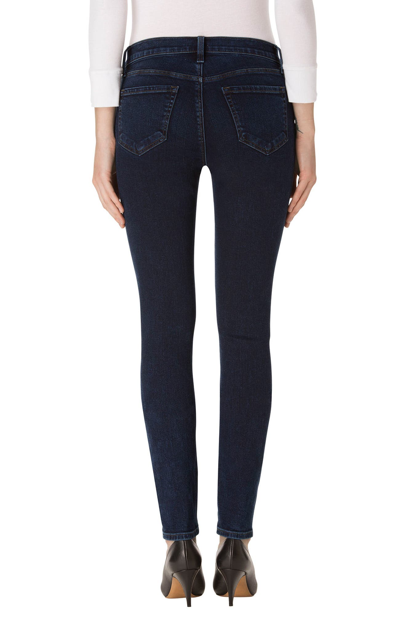 620 Mid Rise Super Skinny Jeans,                             Alternate thumbnail 2, color,                             Throne