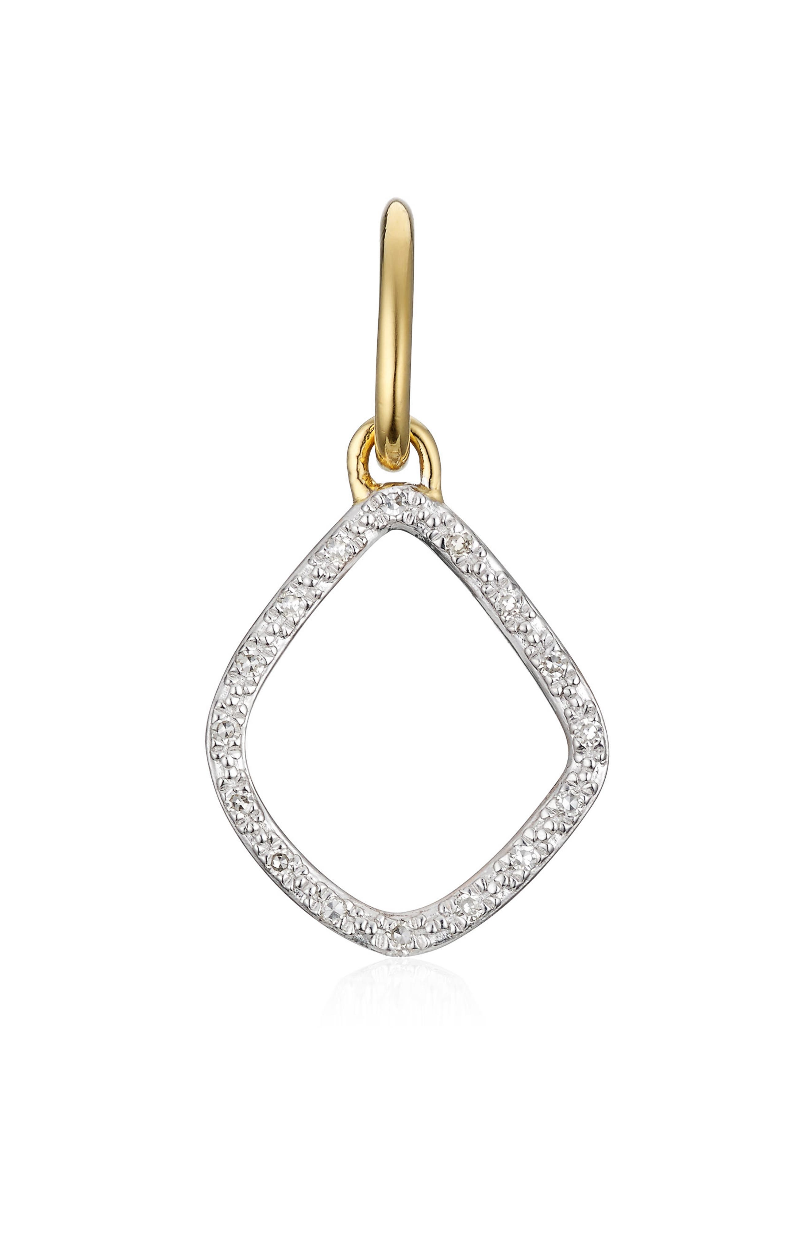 MONICA VINADER Riva Diamond Kite Pendant