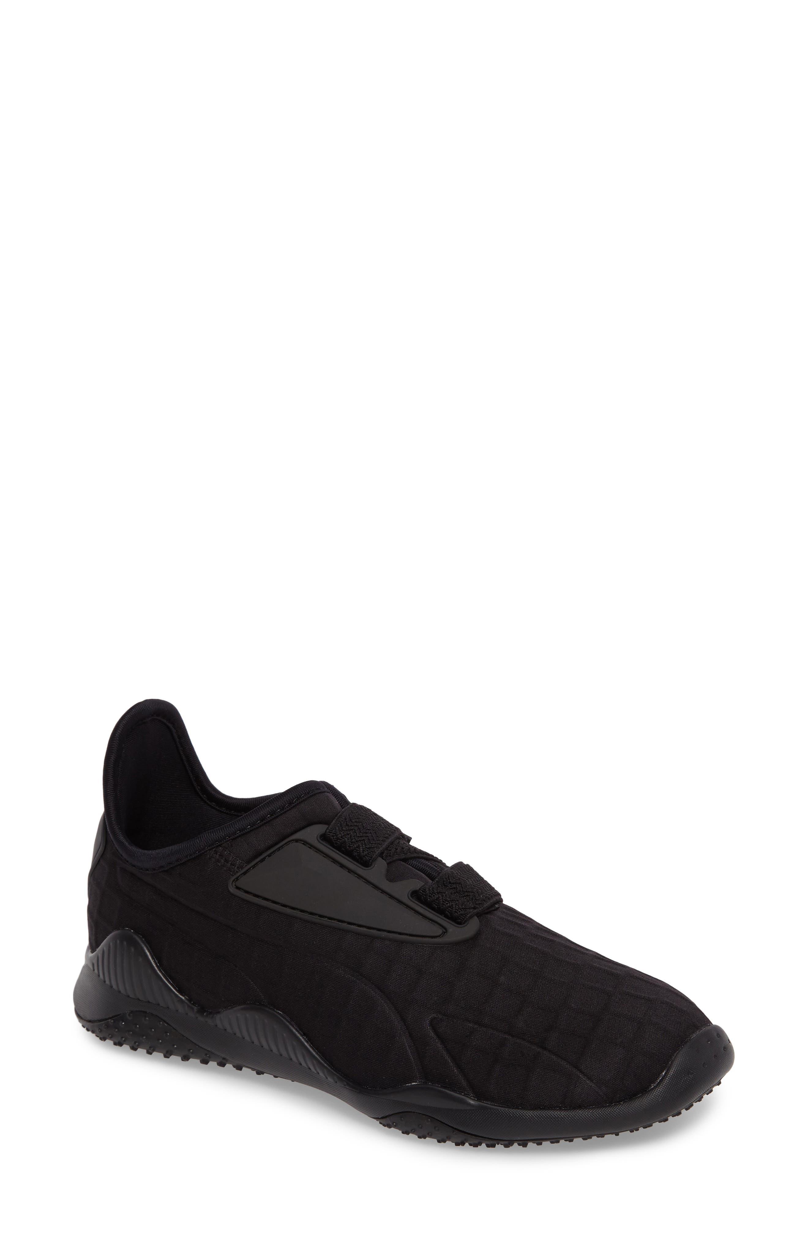 Mostro Fashion Sneaker,                             Main thumbnail 1, color,                             Puma Black/ Puma Black