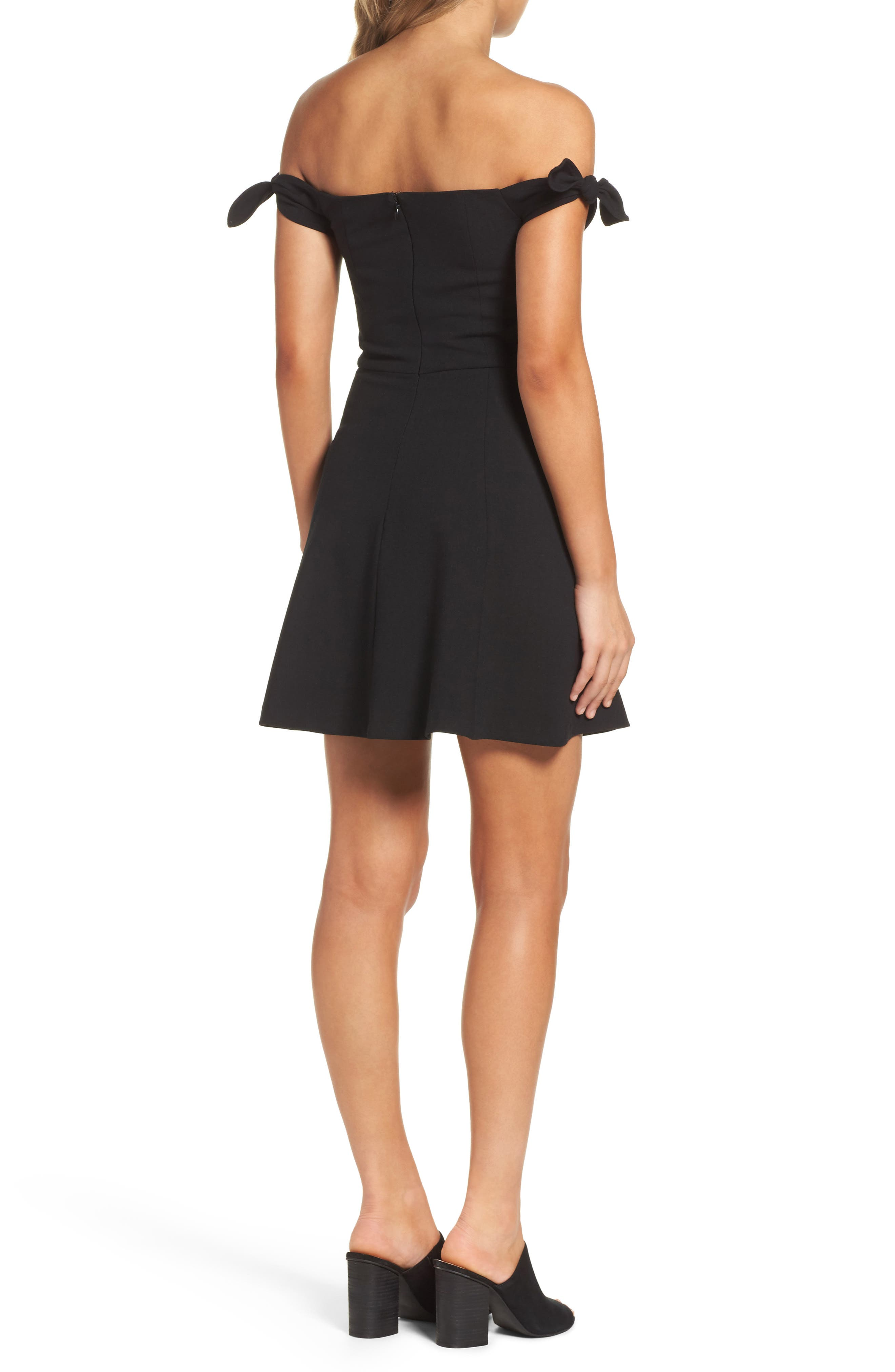 Alternate Image 2  - French Connection Whisper Light Fit & Flare Dress