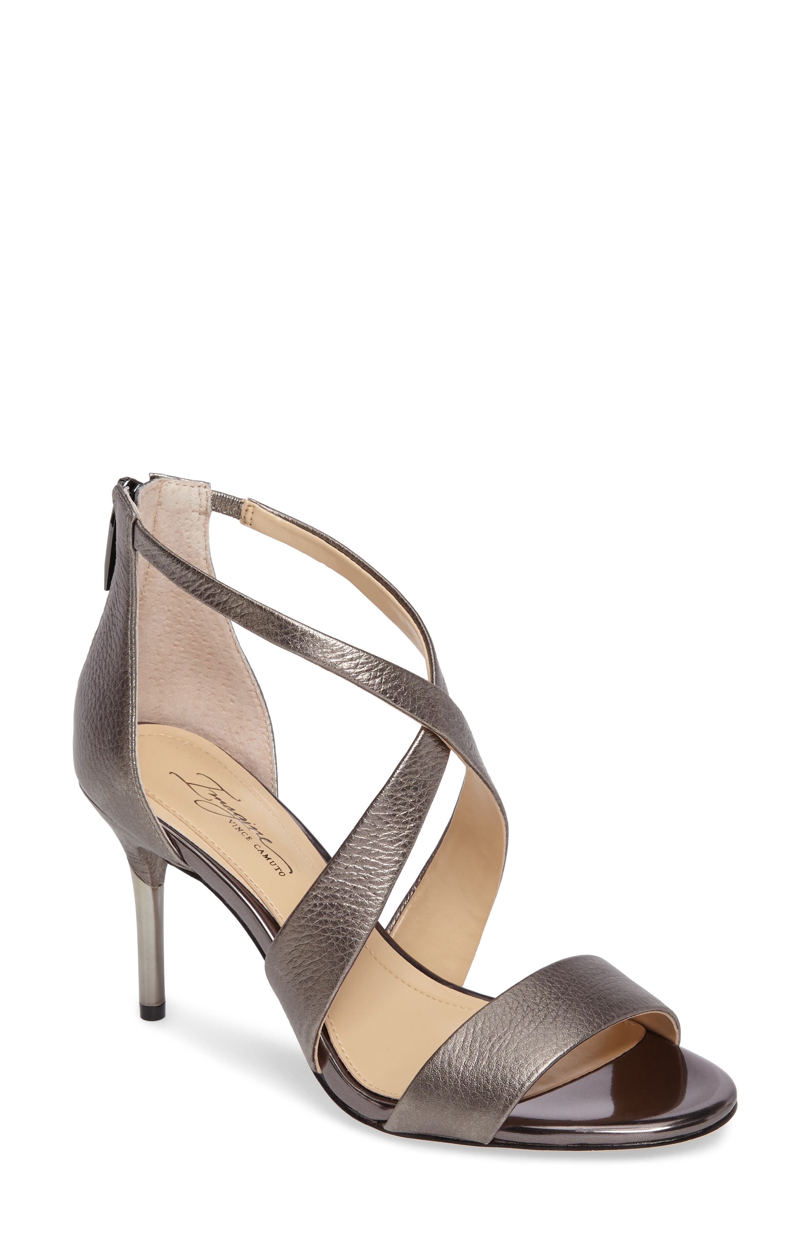 Alternate Image 1 Selected - Imagine by Vince Camuto 'Pascal 2' Strappy Evening Sandal (Women)