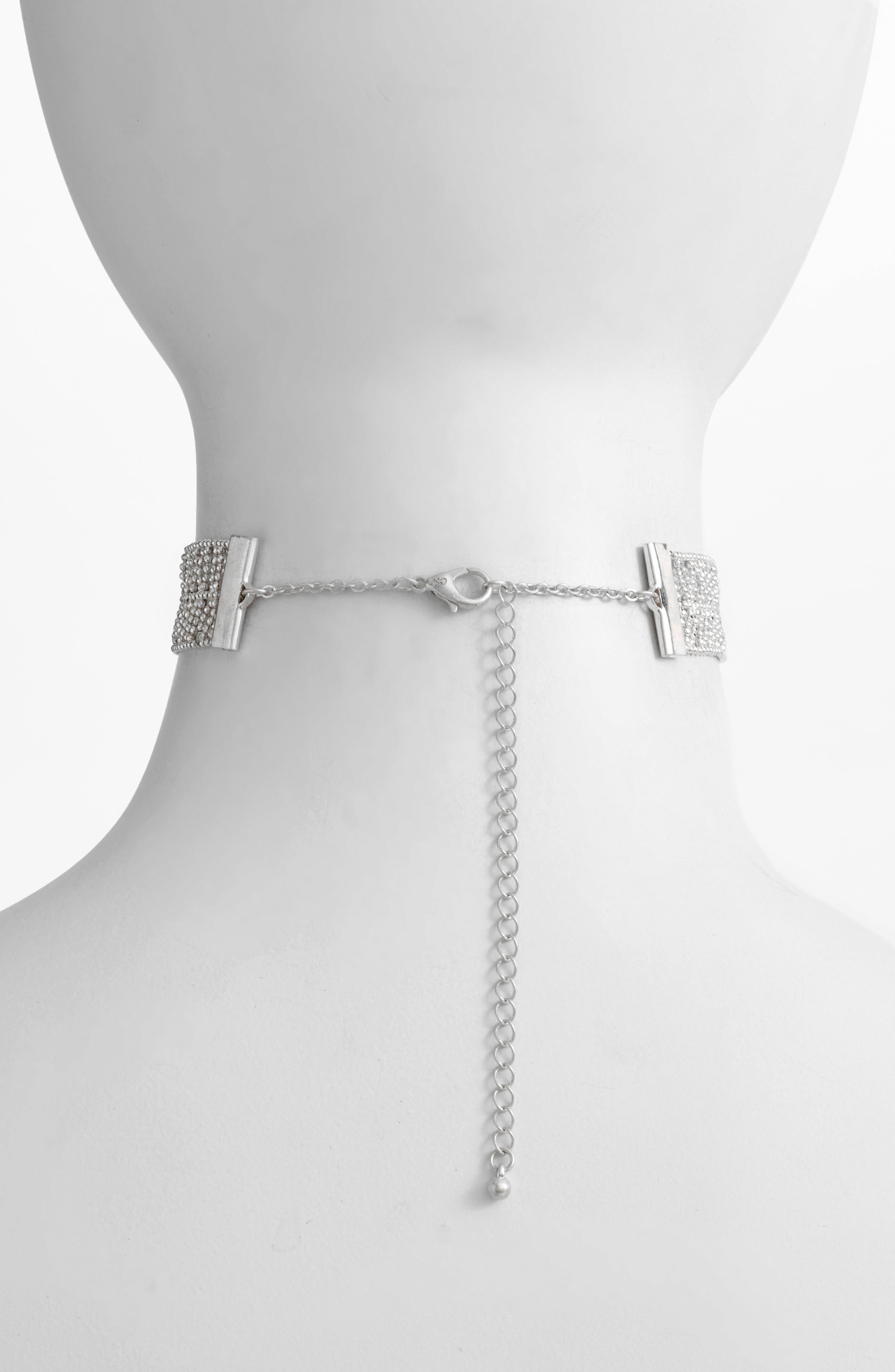 Alternate Image 2  - Danielle Nicole Elm Choker Necklace