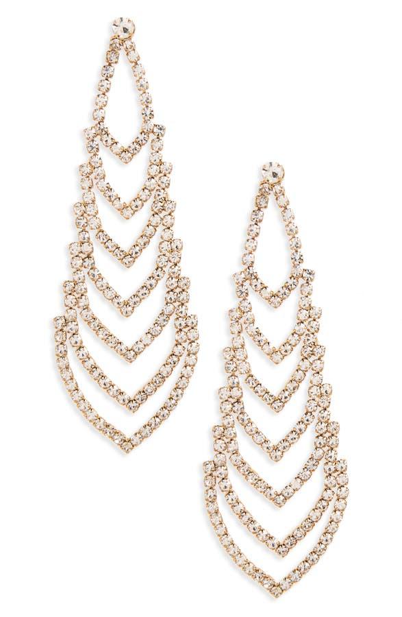 Nina Crystal Chandelier Earrings | Nordstrom