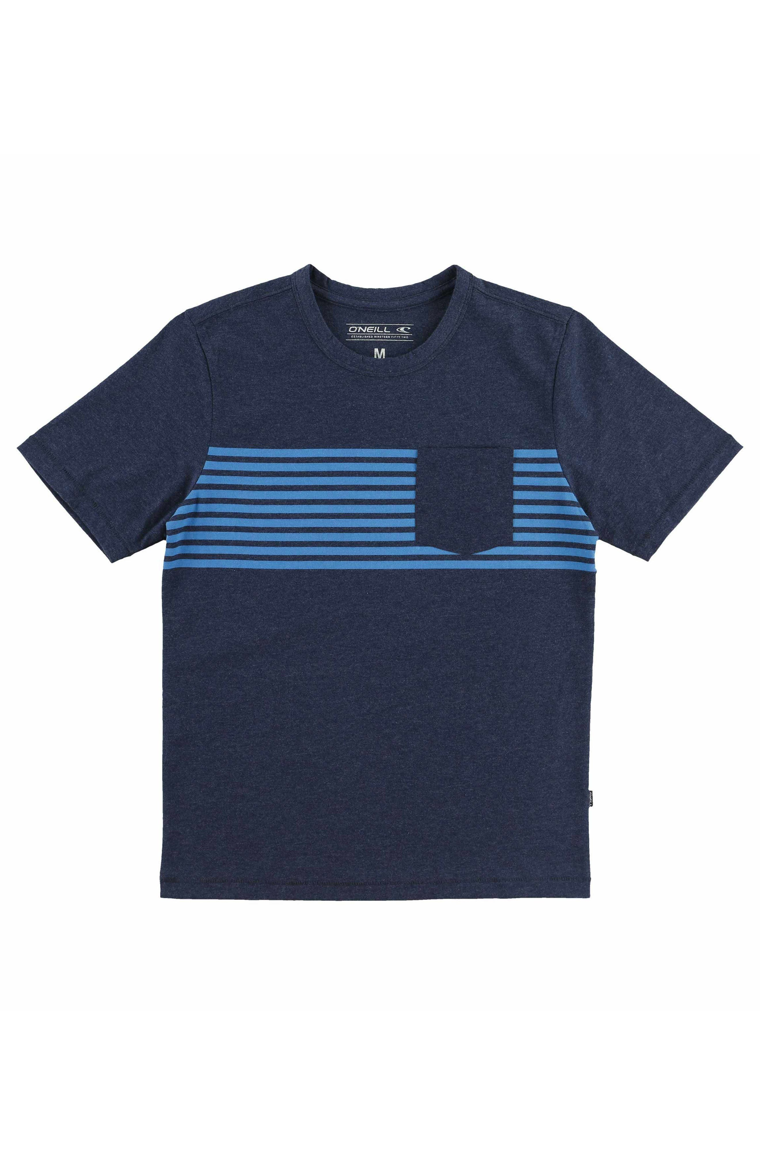 Rodgers Pocket T-Shirt,                         Main,                         color, Navy