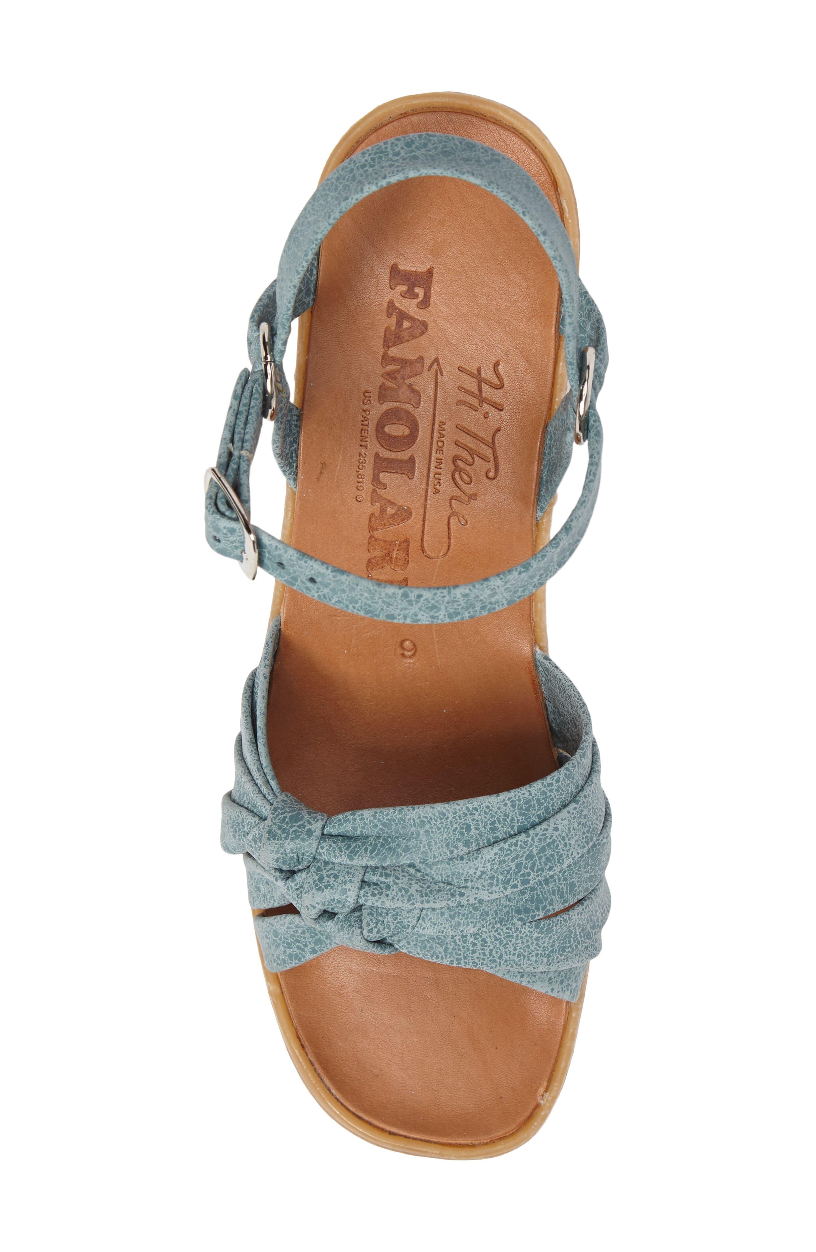 Alternate Image 5  - Famolare Knot So Fast Wedge Sandal (Women)