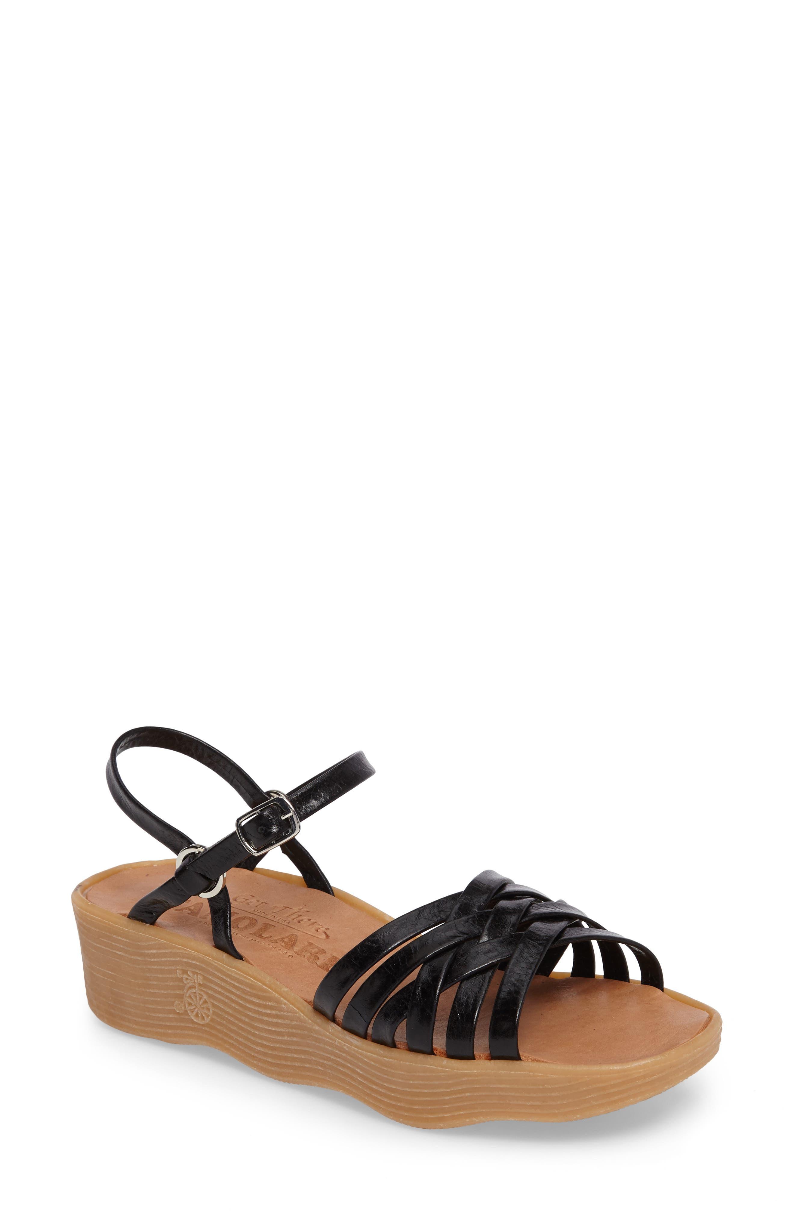 Alternate Image 1 Selected - Famolare Strappy Camper Sandal (Women)